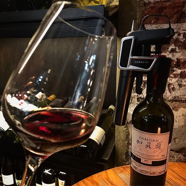 WINE ALERT! Chinese Cabernet Sauvignon poured by the glass via @coravin_uk at Bedales of Borough Market! Join us next week (Tue 23 April) for our first 'Wine Explorer' masterclass featuring a flight of premium wine from CHINA!