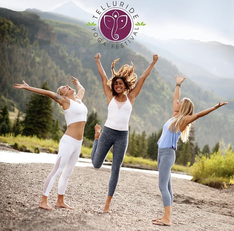 "Telluride Yoga Festival - I am an Ambassador for the Telluride Yoga Festival this summer, happening June 27-30, 2019 in Telluride, Colorado.Please use my discount code ""Angie2019"" for $30 off the purchase of a full-weekend pass.Hope to see you there!"