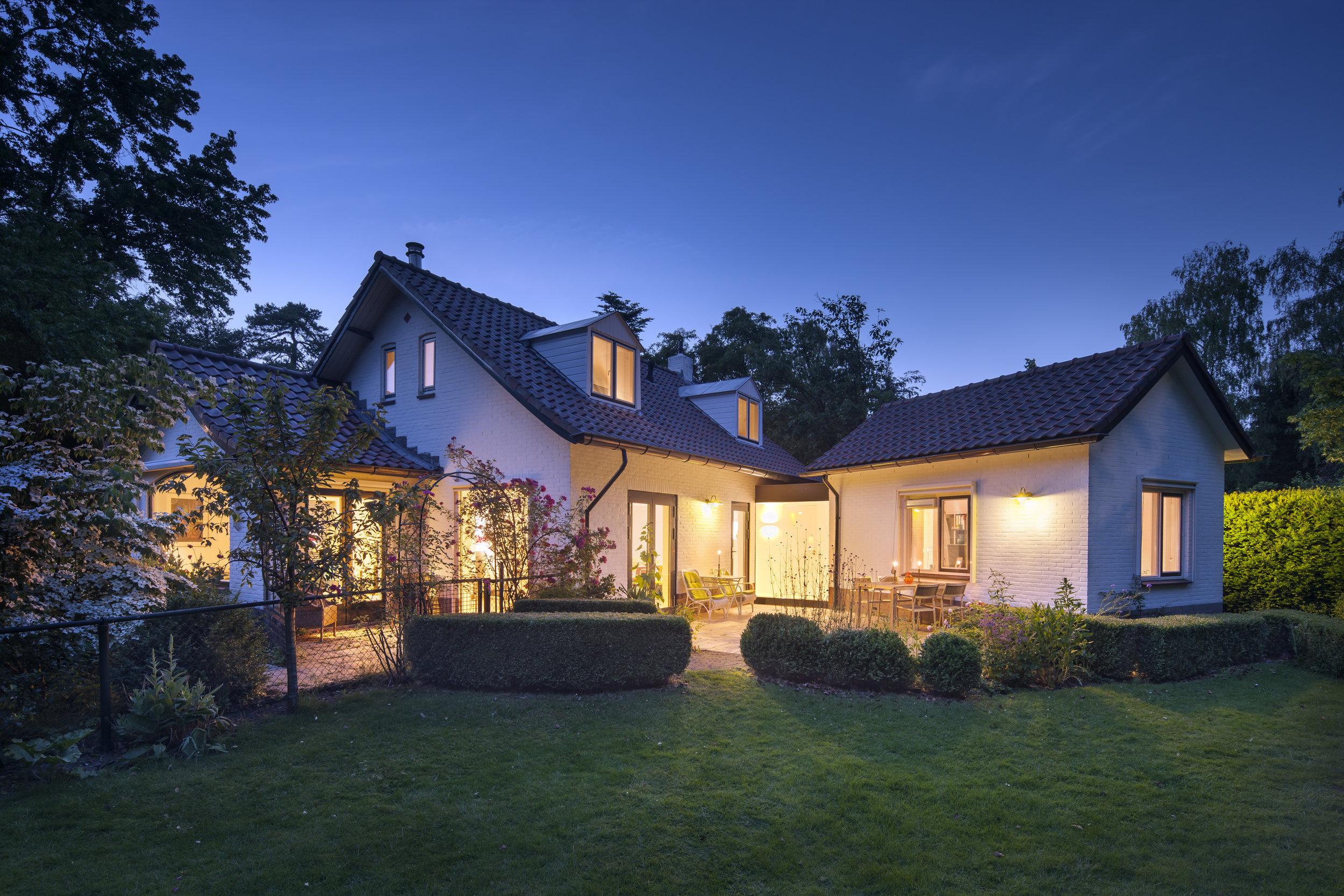 Villa Huis ter Heide avond