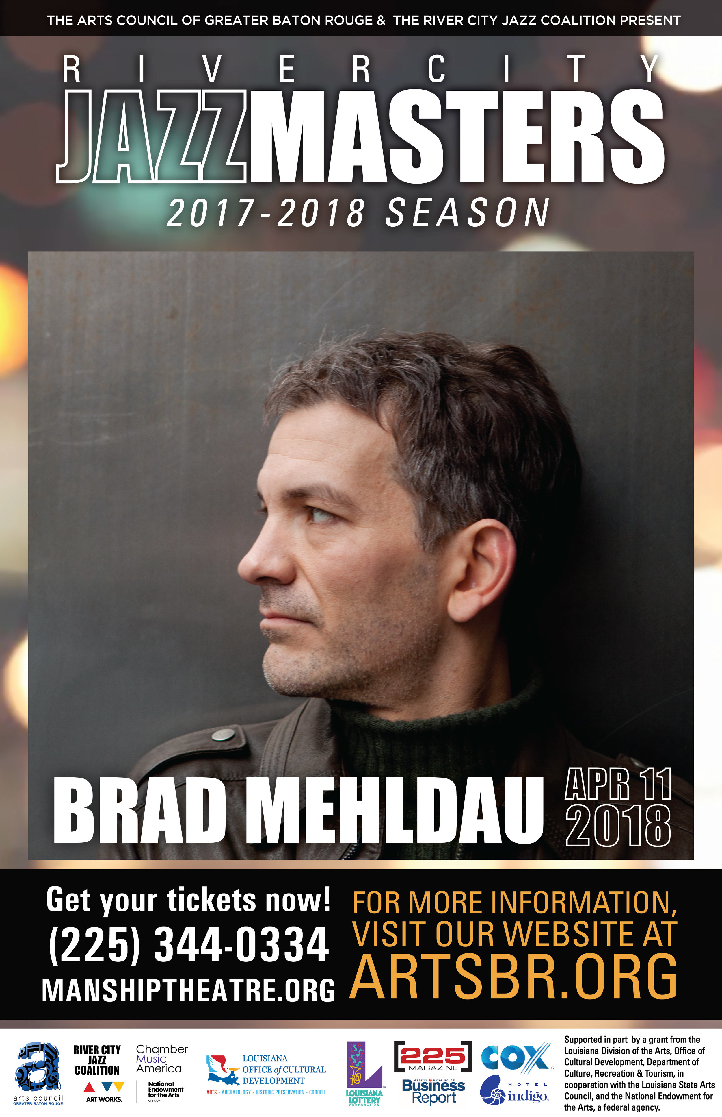 Jazz pianist Brad Mehldau has recorded and performed extensively since the early 1990s. Mehldau's most consistent output over the years has taken place in the trio format. Starting in 1996, his group released a series of five records on Warner Bros. entitled The Art of the Trio (recently re-packaged and re-released as a 5-Disc box set by Nonesuch in late 2011).  Other Mehldau recordings include Largo, a collaborative effort with the innovative musician and producer Jon Brion, and Anything Goes—a trio outing with bassist Larry Grenadier and drummer Jorge Rossy. Mehldau has performed around the world at a steady pace since the mid-1990s, with his trio and as a solo pianist. His performances convey a wide range of expression. There is often an intellectual rigor to the continuous process of abstraction that may take place on a given tune, and a certain density of information.
