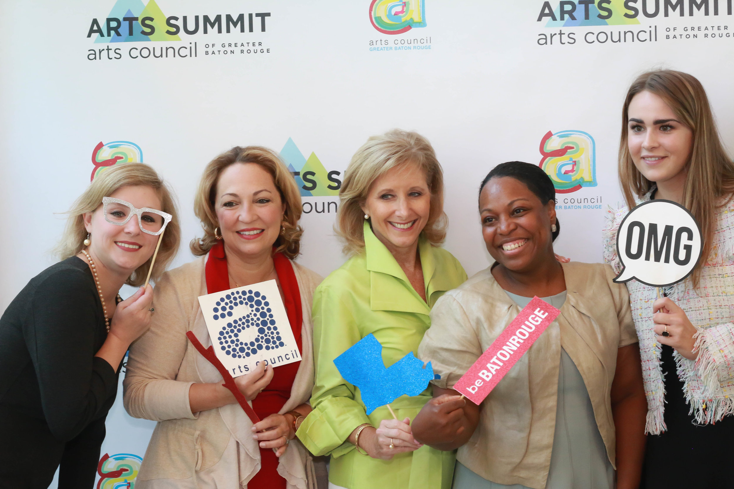 Thank you to beBATONROUGE for the use of their photo booth to capture memories of the 2018 Arts Summit.