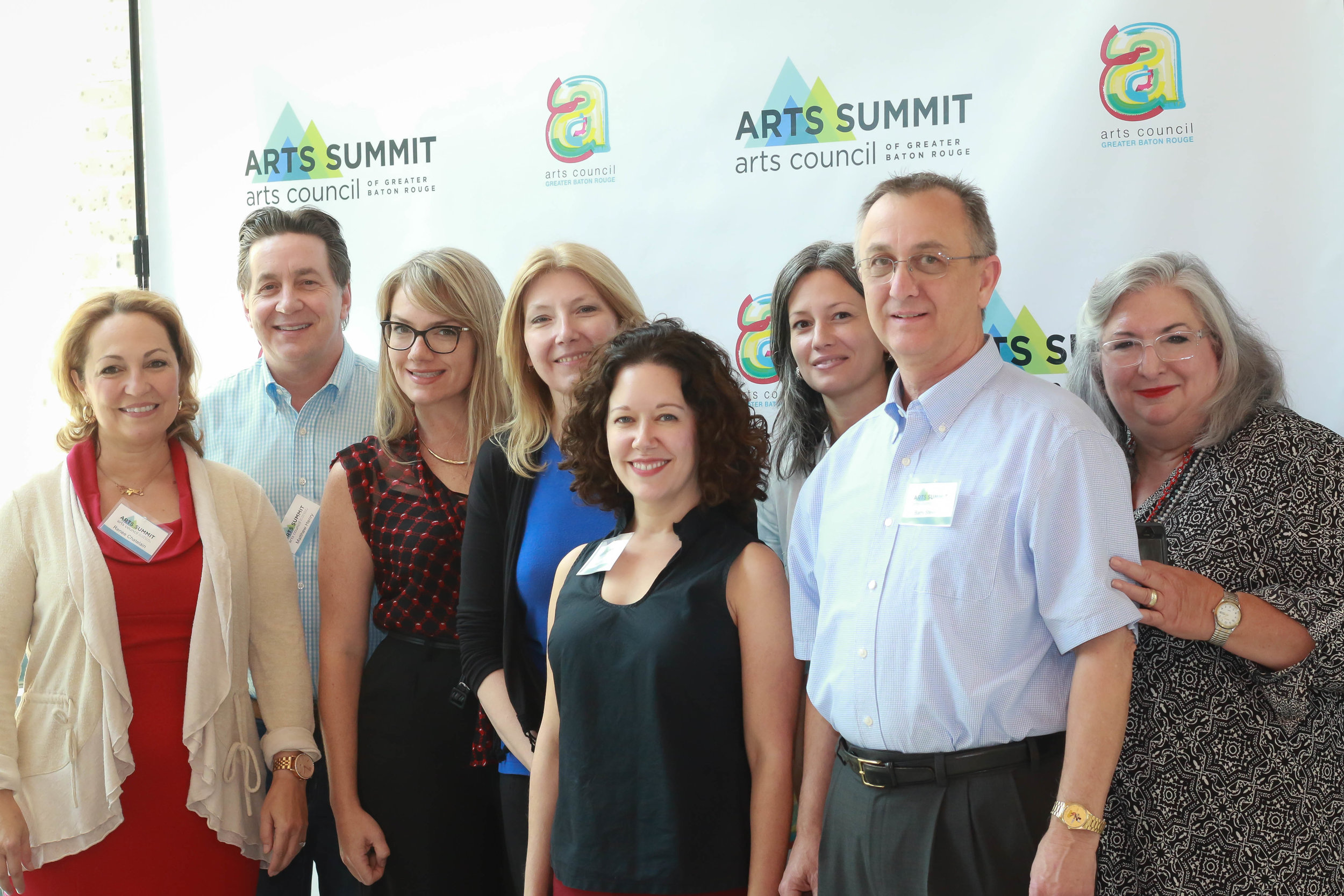 Thank you to all of the nine Regional Arts Councils for their help and support in making this 2018 Arts Summit a great success.