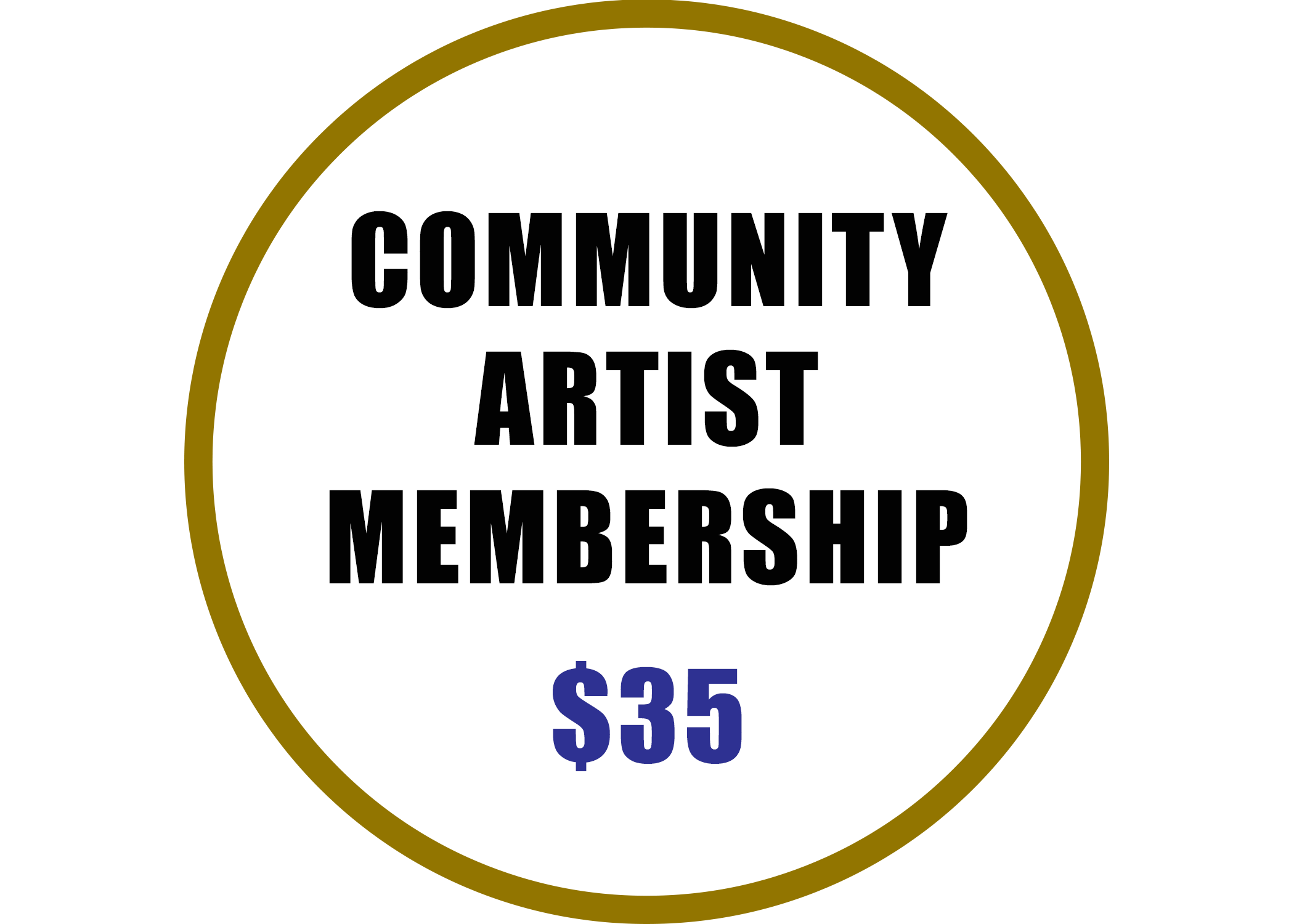 Community Artist Membership benefits include:  -Listing on Artist Roster on the ACGBR Website -Complimentary Admission to Arts Summit 2019 -Invitation to Professional Development Workshops -Voting Rights at Annual Meeting