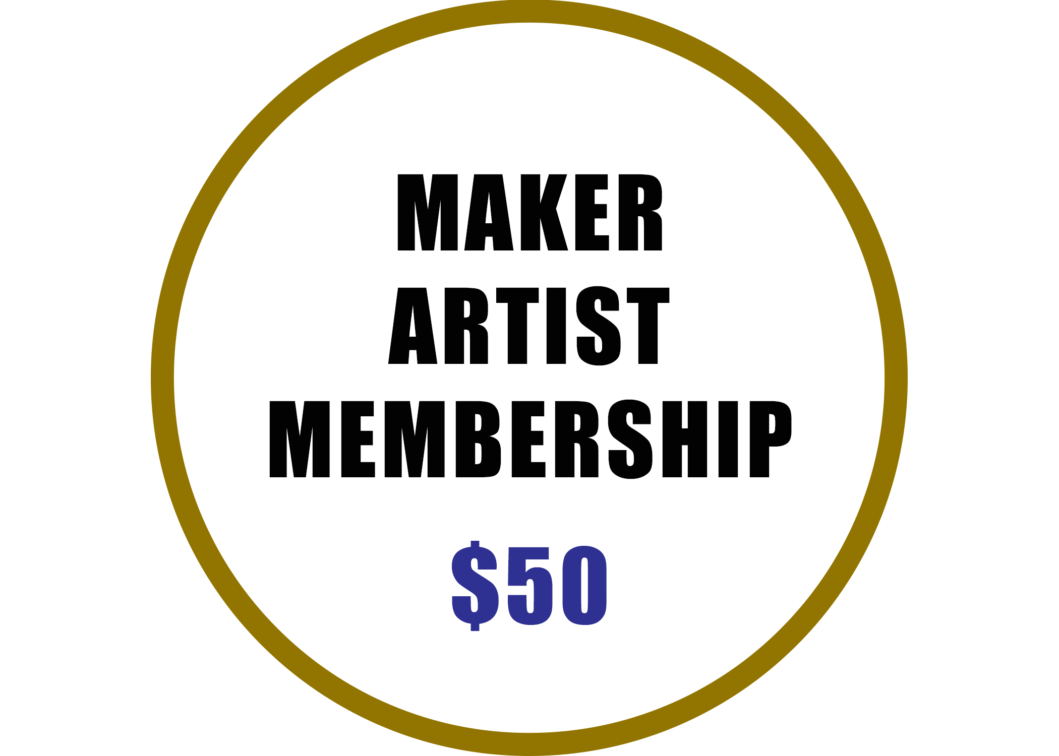 Maker Artist Membership benefits include:  -1 free market for the 2019 Baton Rouge Arts Market *This is subject to the artist being juried into the market -Automatic Eligibility to participate in ancillary markets -Free admission to market vendor classes and 2019 Arts Summit -Listing on Artist Roster on ACGBR Website -Discounted Event Rental Space -Voting Rights at Annual Meeting -Invitation to Networking Events Hosted by ACGBR