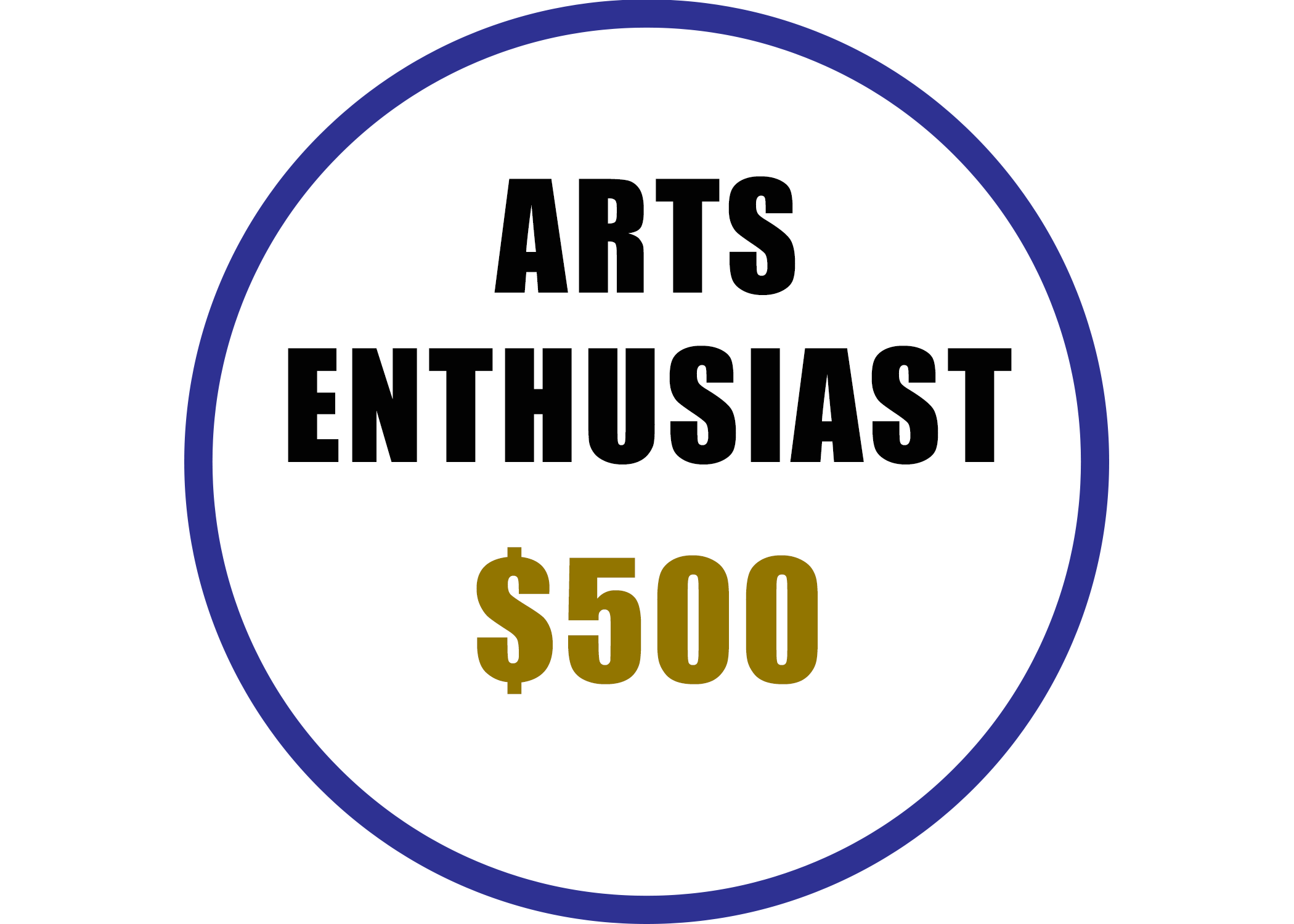 Arts Enthusiast benefits include:  -Recognition on the Arts Council website  -Voting rights at the Annual Meeting -20% discount on Artsplosion! Camps for kids -2 VIP passes at Ebb & Flow Festival -Discounted rental at Arts Council venues -Advance ticket purchase opportunity for River City Jazz Master Series