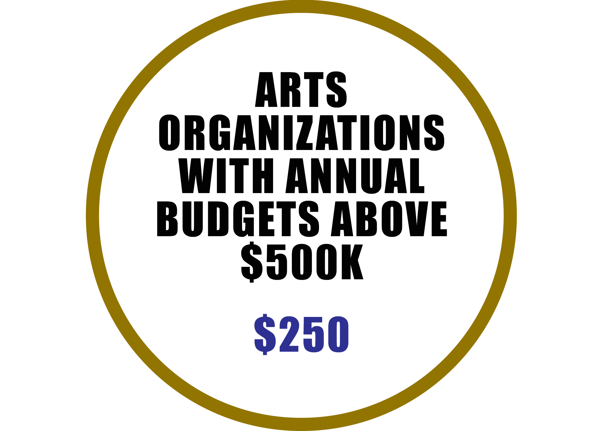 Artist Organizations with budgets above $500K Membership benefits include:  -Event Rental Discount -Complimentary Booth at Baton Rouge Arts Market -Voting rights at Annual Meeting -4 Arts Council e-blast promotions per year -Discounted professional development seminars -Listed on Arts Council website with link to member's website -Invitation to Networking Events hosted by Arts Council -Complimentary admission to Arts Summit -Events included on Community Arts Calendar & Newsletter Spotlight