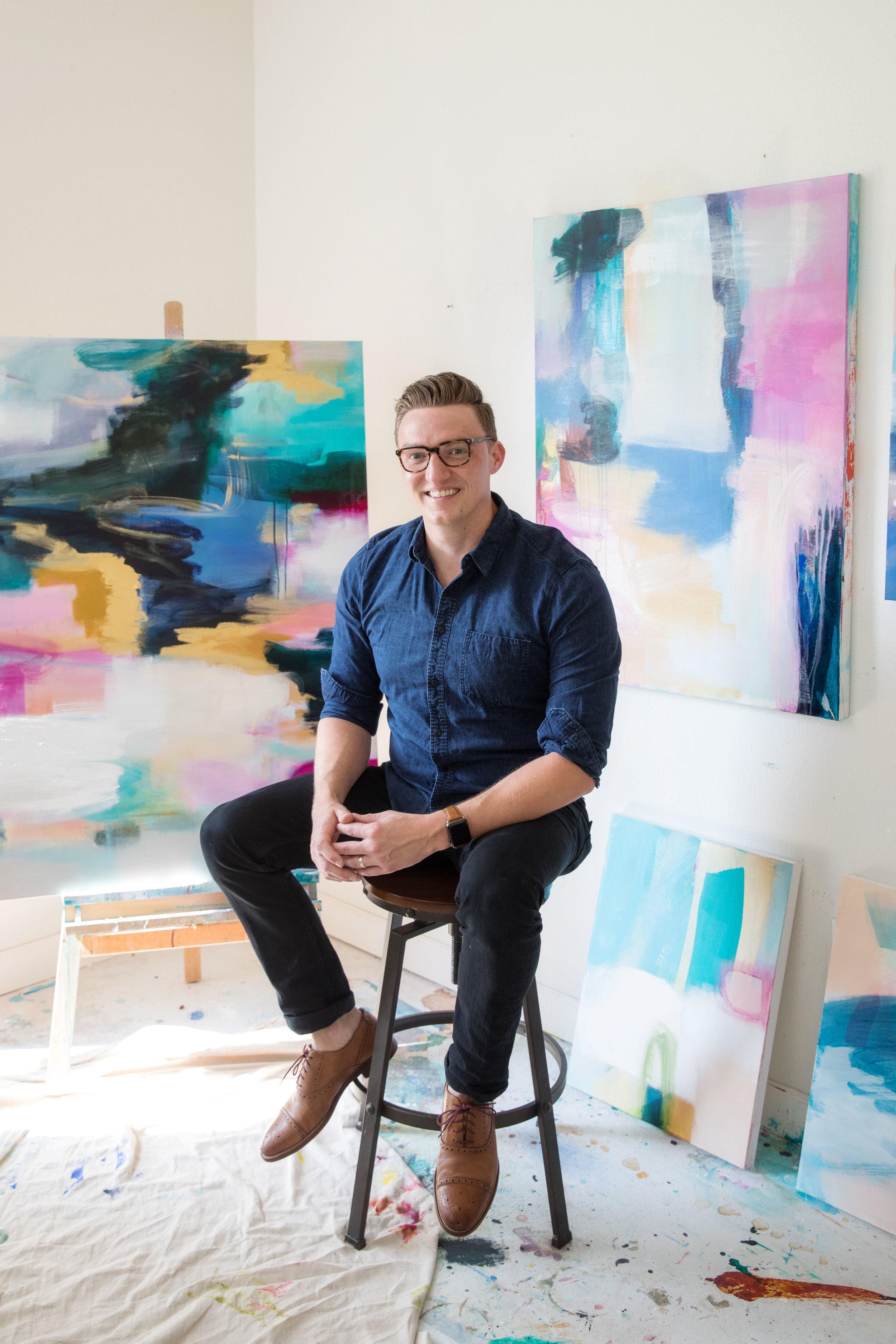 Chad Schoonmaker, Painter.   www.cscreates.com/