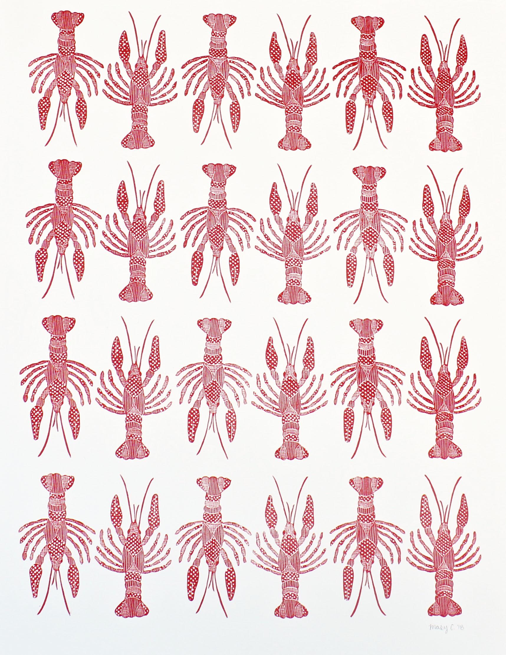 Crawfish pattern