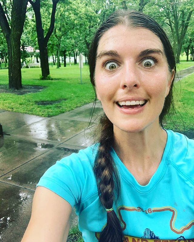 Just enjoying a run in the rain.  #gooutside #runfargo #outdoorfarmoor  #natureheals #embracetheelements