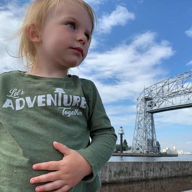 Lets adventure together always. #duluth #exploremn