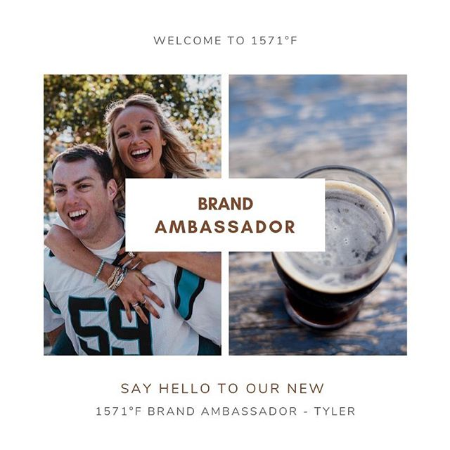 WELCOME! Say hello to @tyler_mallams our new Brand Ambassador! Make sure to follow him and check out all of his great ex-beer-iments! • • Want to become a Brand Ambassador? Fill out the application below to get started!  http://sgiz.mobi/s3/Become-a-Campfire-Brew-Master  #beercaramelizer #exbeeriment #brewmaster #campfirebrewmaster #exbeeriment #welcome #brandambassador #brandambassadorwanted