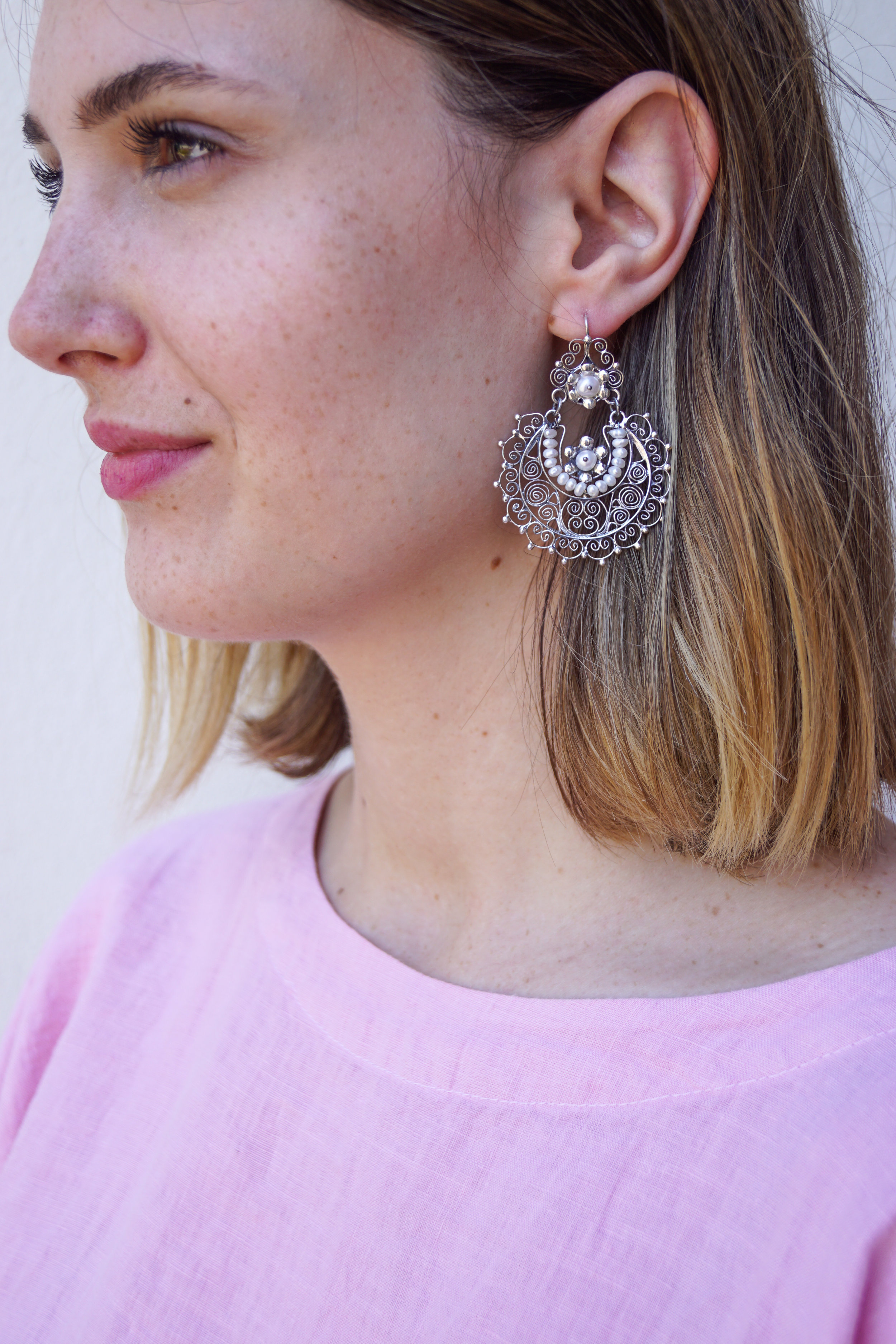 Earrings from Mexico