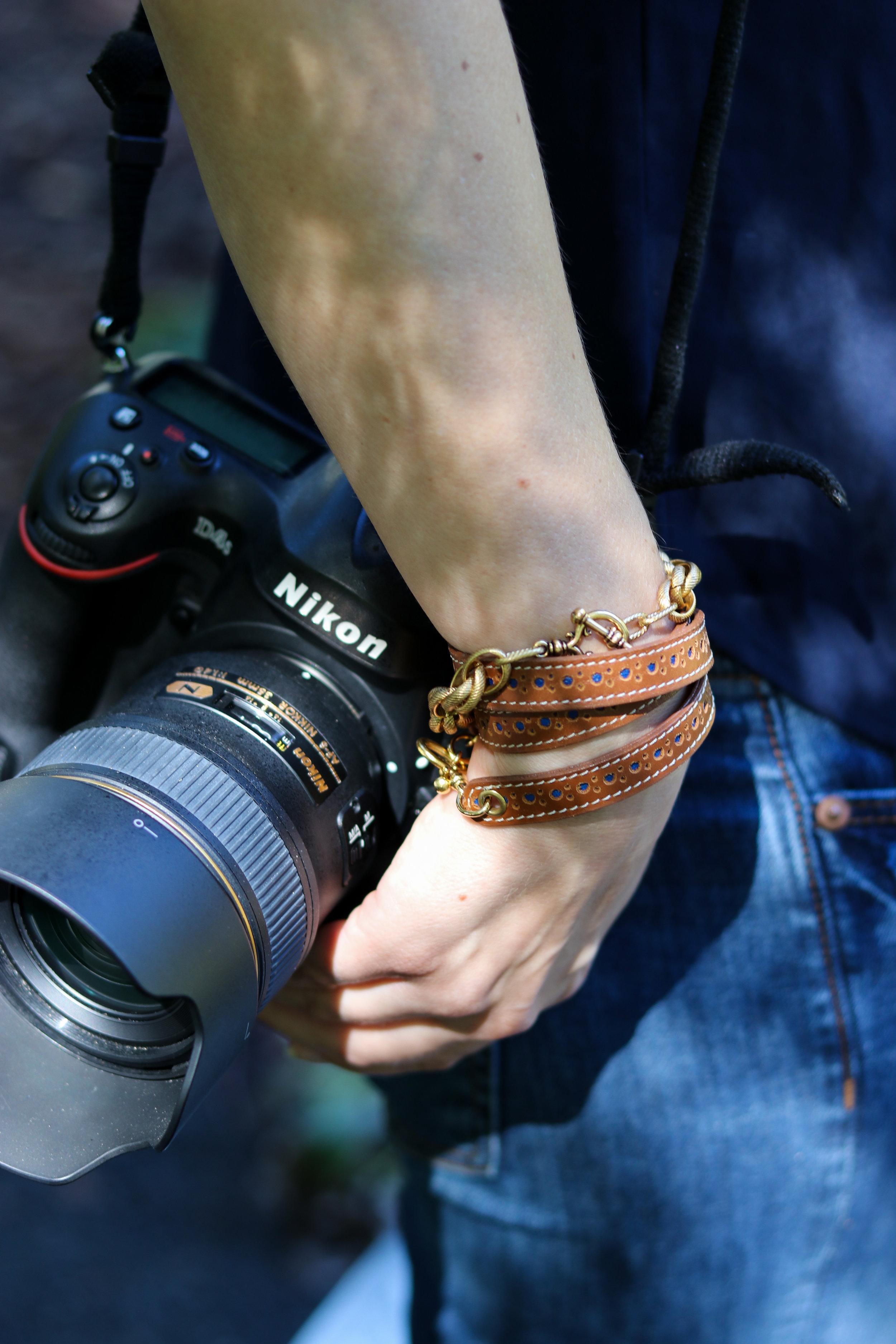 Shop similar bracelet  HERE . Shop the Kate Bracelet  HERE .