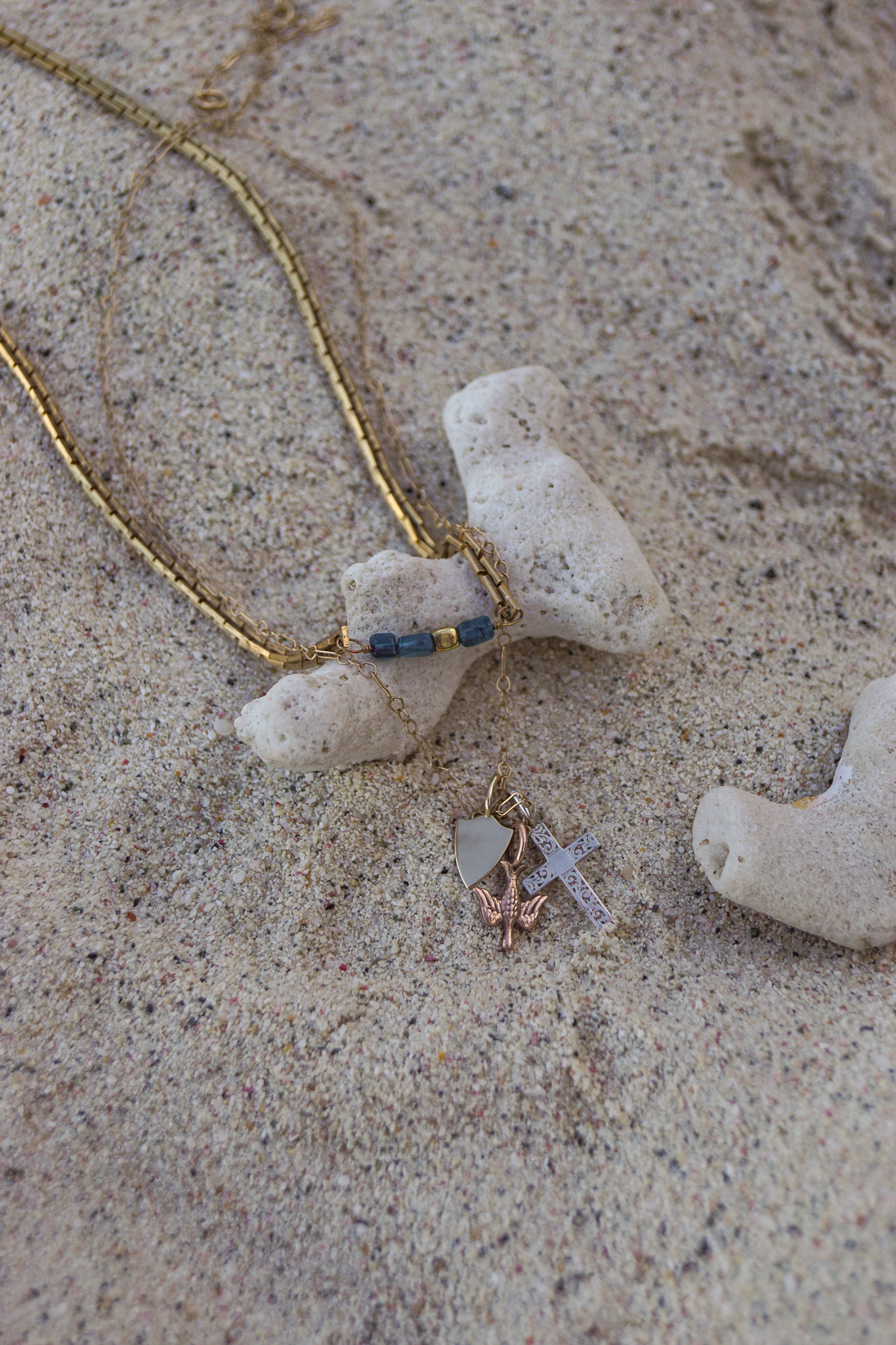 Click here to shop Elizabeth Adams fine jewelry collection.   Click here to shop the Natalie Necklace.