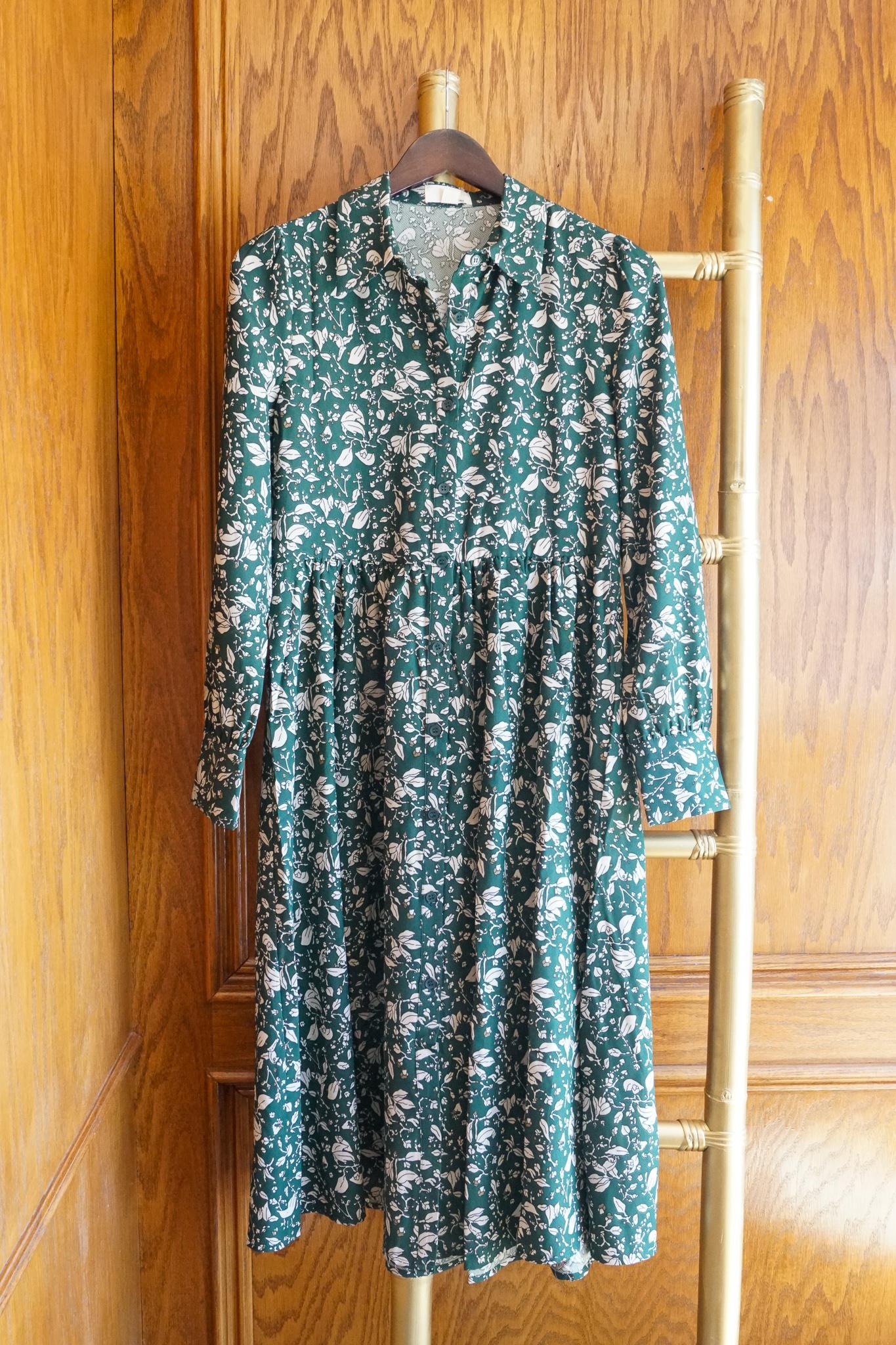 Korner Floral Dress $99- XS, S, M, L