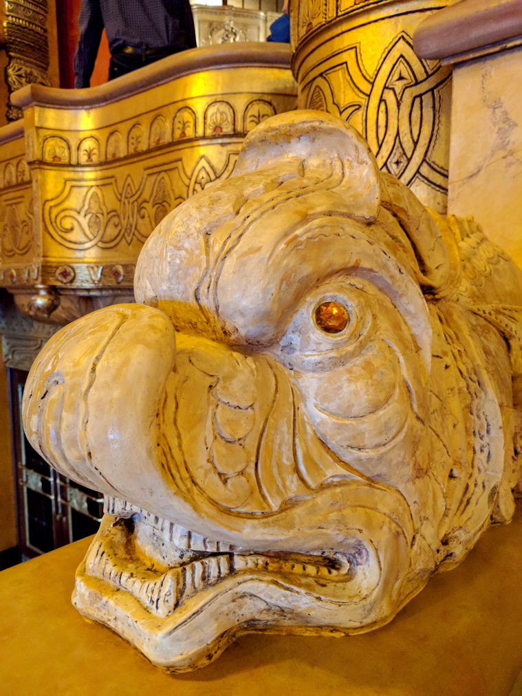 Detail from the lobby of the Fox Theater, photo courtesy of Jeff Richards