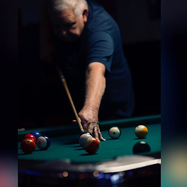 Wanna play a game?  #poolplayer #stripes #maketheshot #eventphotography #stleventphotography #leagueplay #karendphotostl #stlouisphotography #stlfaces