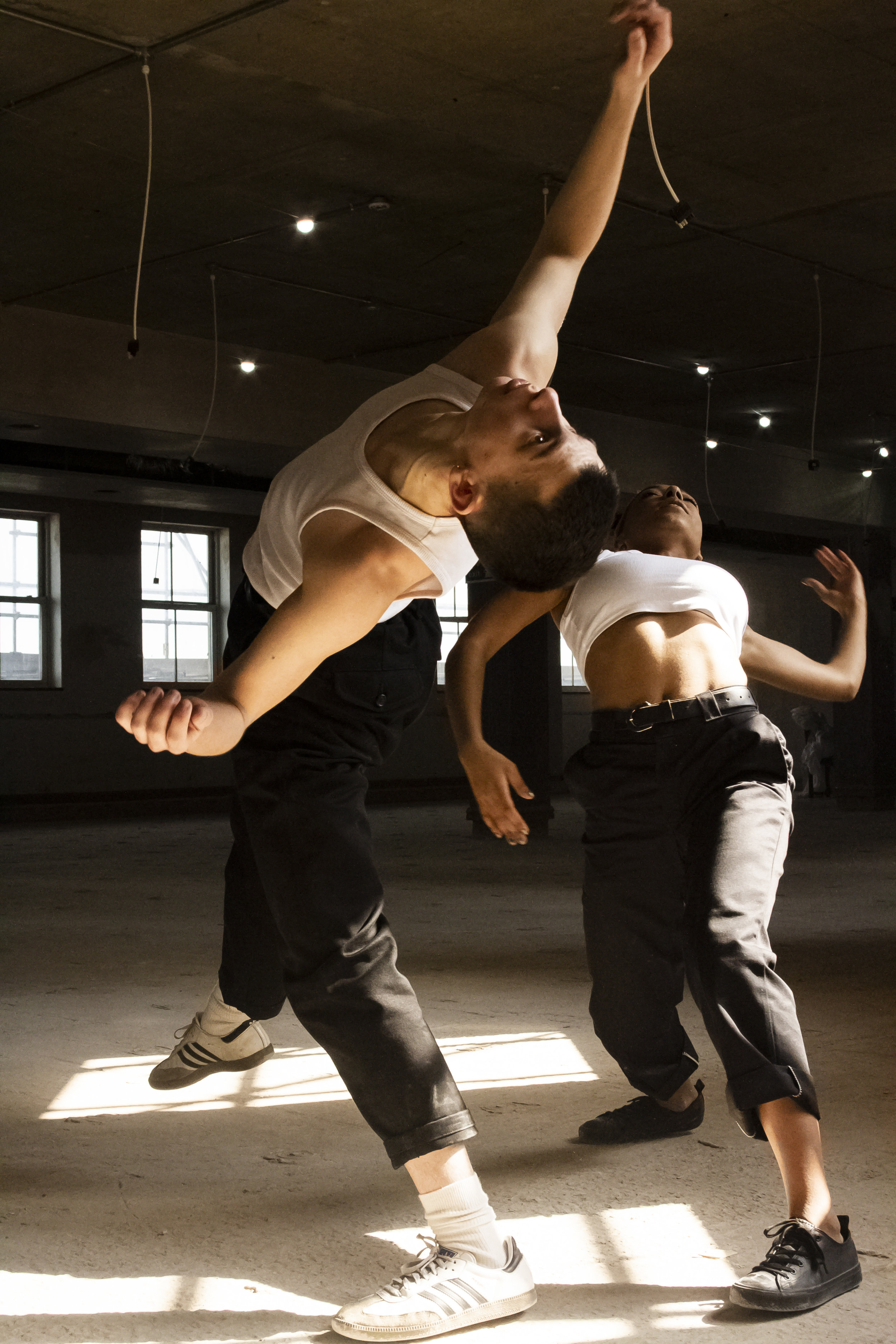 Dancers Betty Ward and Max Cookward at 34 Boar Lane