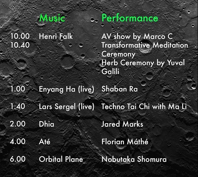 Line up for tonight at @arenaclub_official ! Join our voyage to Kepler 452b 🚀🚀🚀 #events #techno #music #art #performance #community #berlin