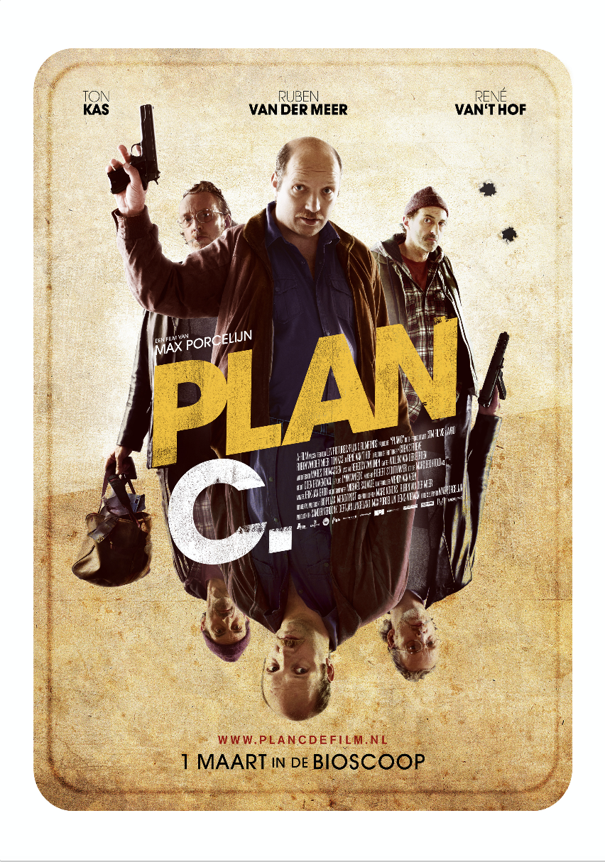 - Original Title: Plan CWriter: Max PorcelijnDirector: Max PorcelijnProducers: Denis Wigman, Sander VerdonkCo-producer: AVROMain Cast: Ruben van der Meer, Rene van 't Hof, Ton KasGenre: Black comedyLanguage: Dutch / GermanDistributor: Dutch FilmworksLength: 96 minYear of release: 2011
