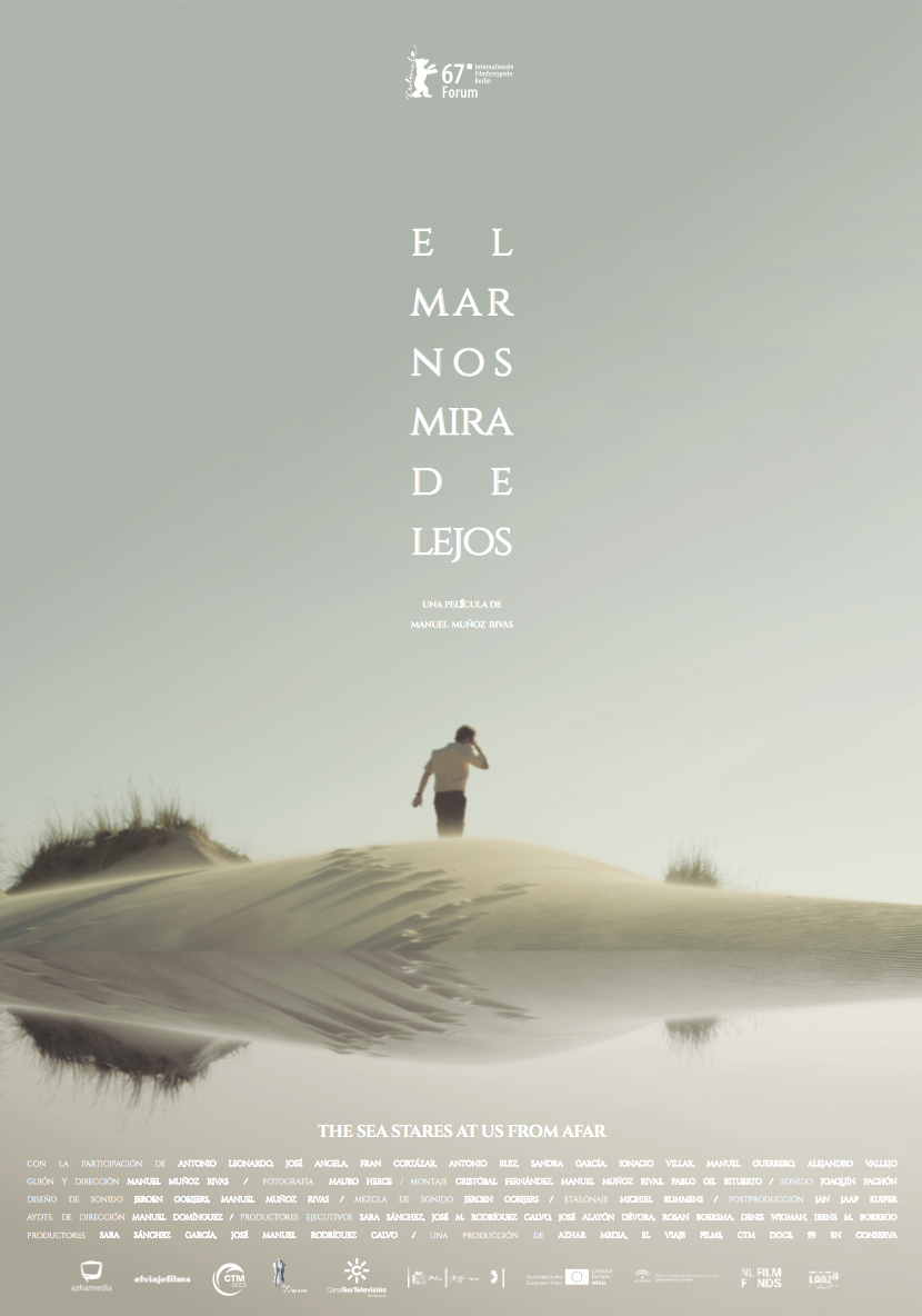 - Original Title: El Mar Nos Mira De LejosDirector: Manuel Muñoz RIvasProducers: José M. Rodríguez Calvo, Sara Sánchez García                 Co-producer: José Alayón Dévora, Rosan Boersma, Denis Wigman, Irene M. BorregoProduction: Azhar media                                              Co-production: CTM Docs, El Viaje Films, 59 En ConservaLanguage: SpanishLength: 93 min.Year of release: Berlinale Forum - 2017