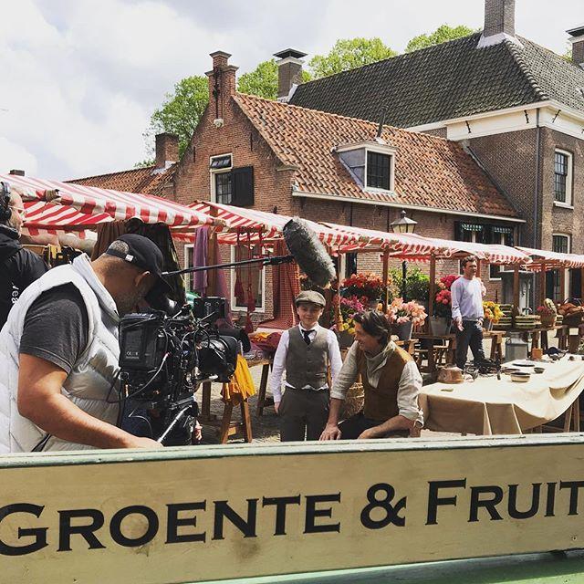 Persdag op de markt bij Kruimeltje!! #kruimeltje #inproduction #coproductie #repfilm #nutsandboltsfilmcompany