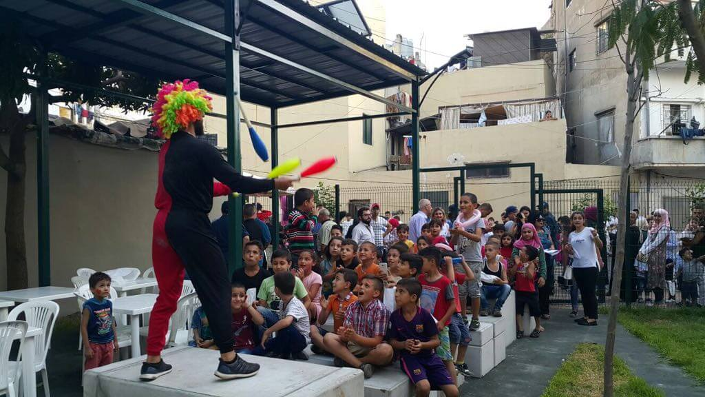 The new space comes alive with community events, Beirut Credit: UN-Habitat