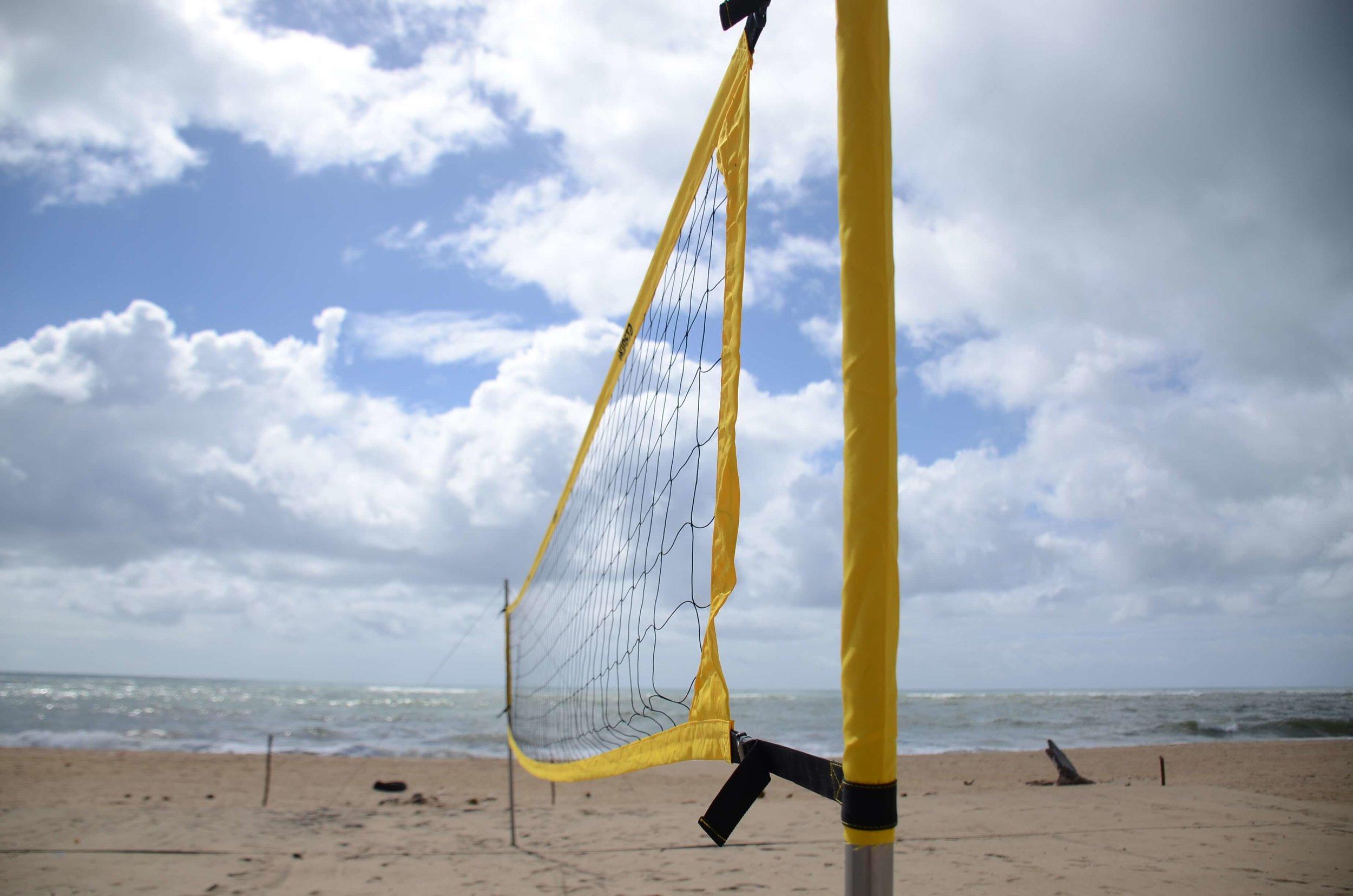 Beachfront volleyball courts for all to enjoy Credit: Lems Andriamihaja/UN-Habitat