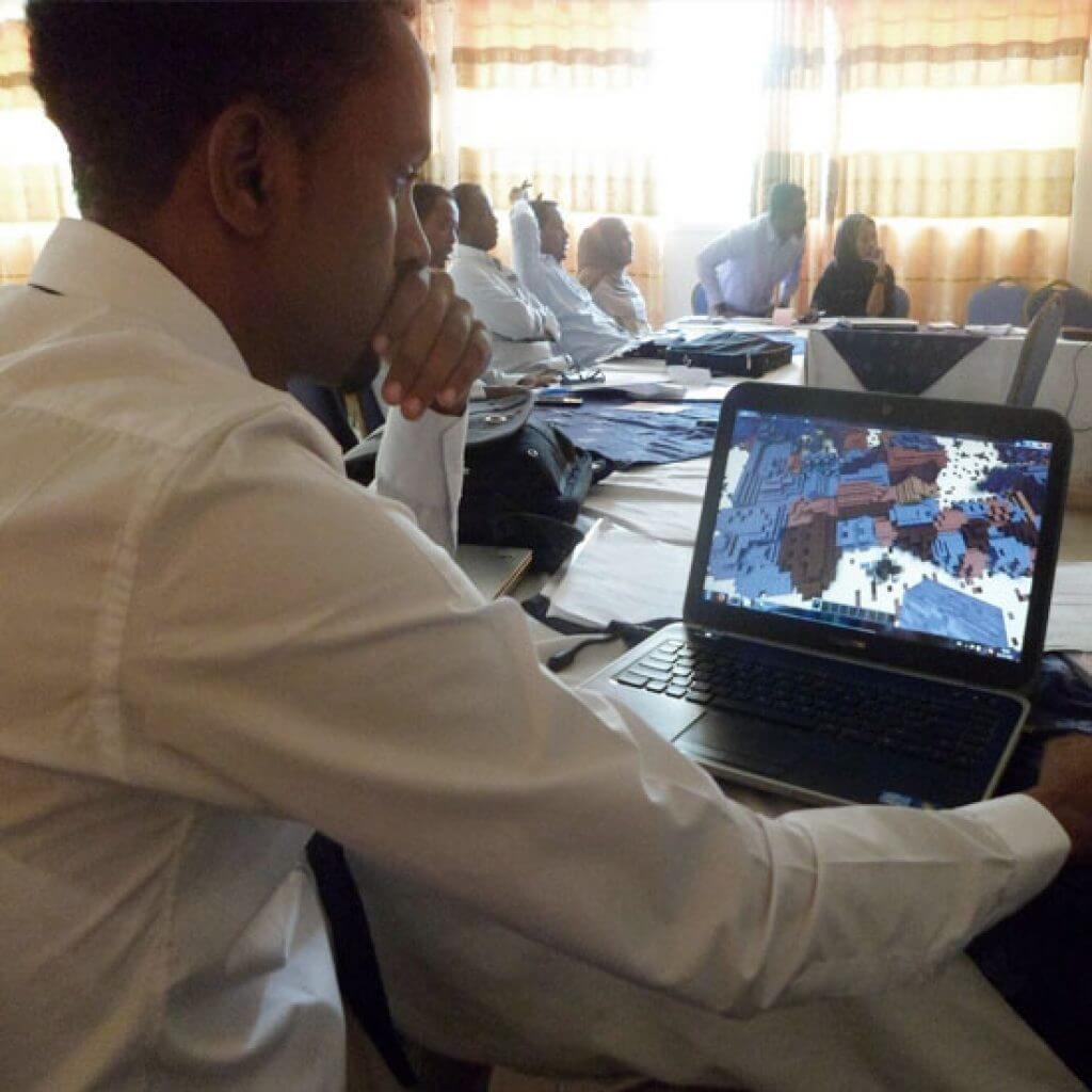 Block by Block Workshop, Mogadishu, Somalia Credit: Jose Chong/UN-Habitat