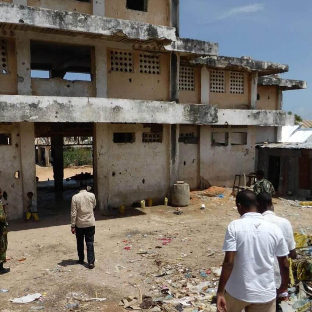 Community site walk-through, Mogadishu, Somalia Credit: UN-Habitat
