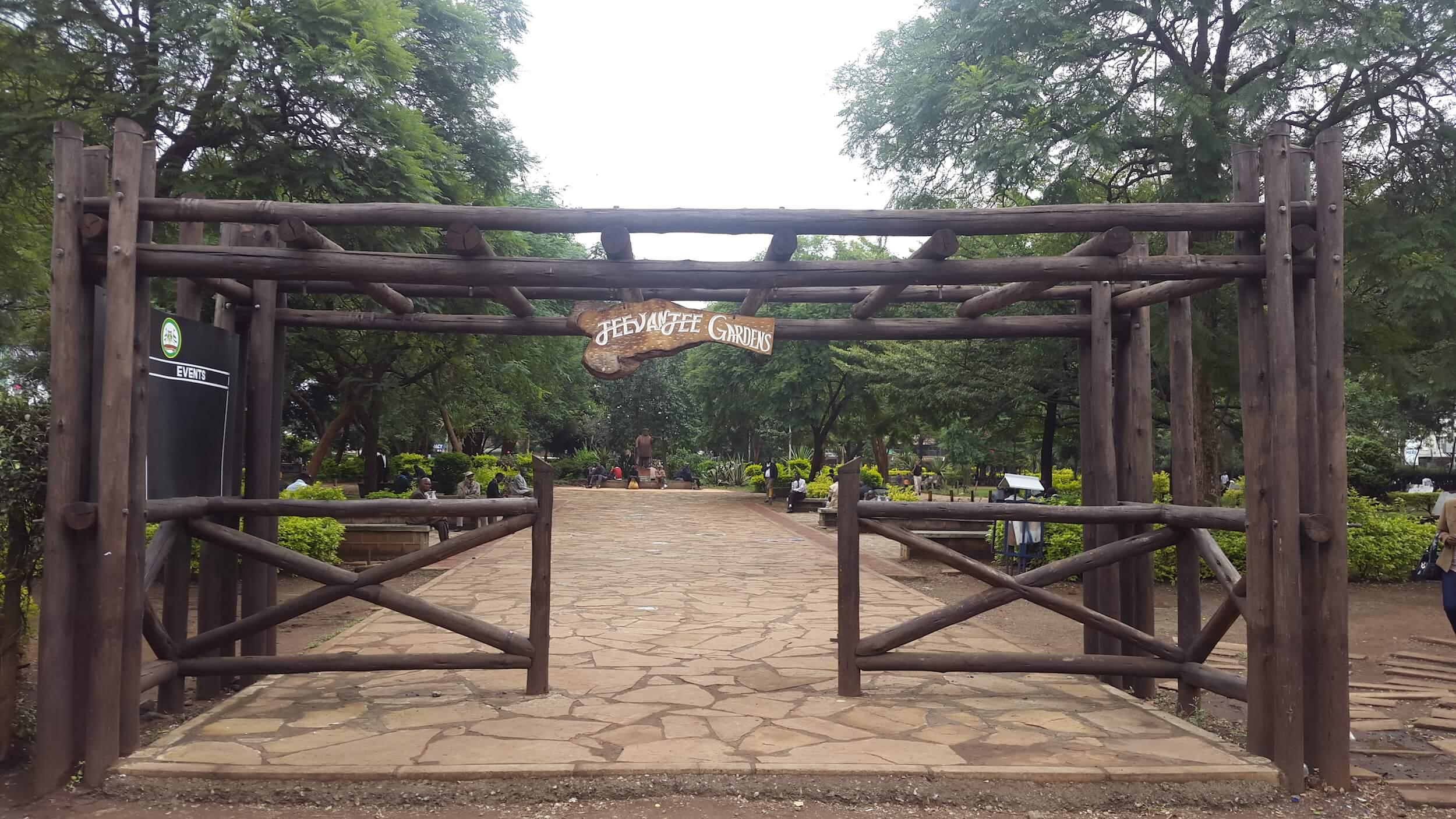 Completed Jeevanjee Gardens park, Nairobi, Kenya Credit: UN-Habitat