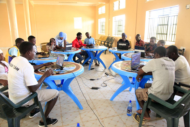 Participants gather for a four-day workshop to design their proposals. Credit: UN-Habitat
