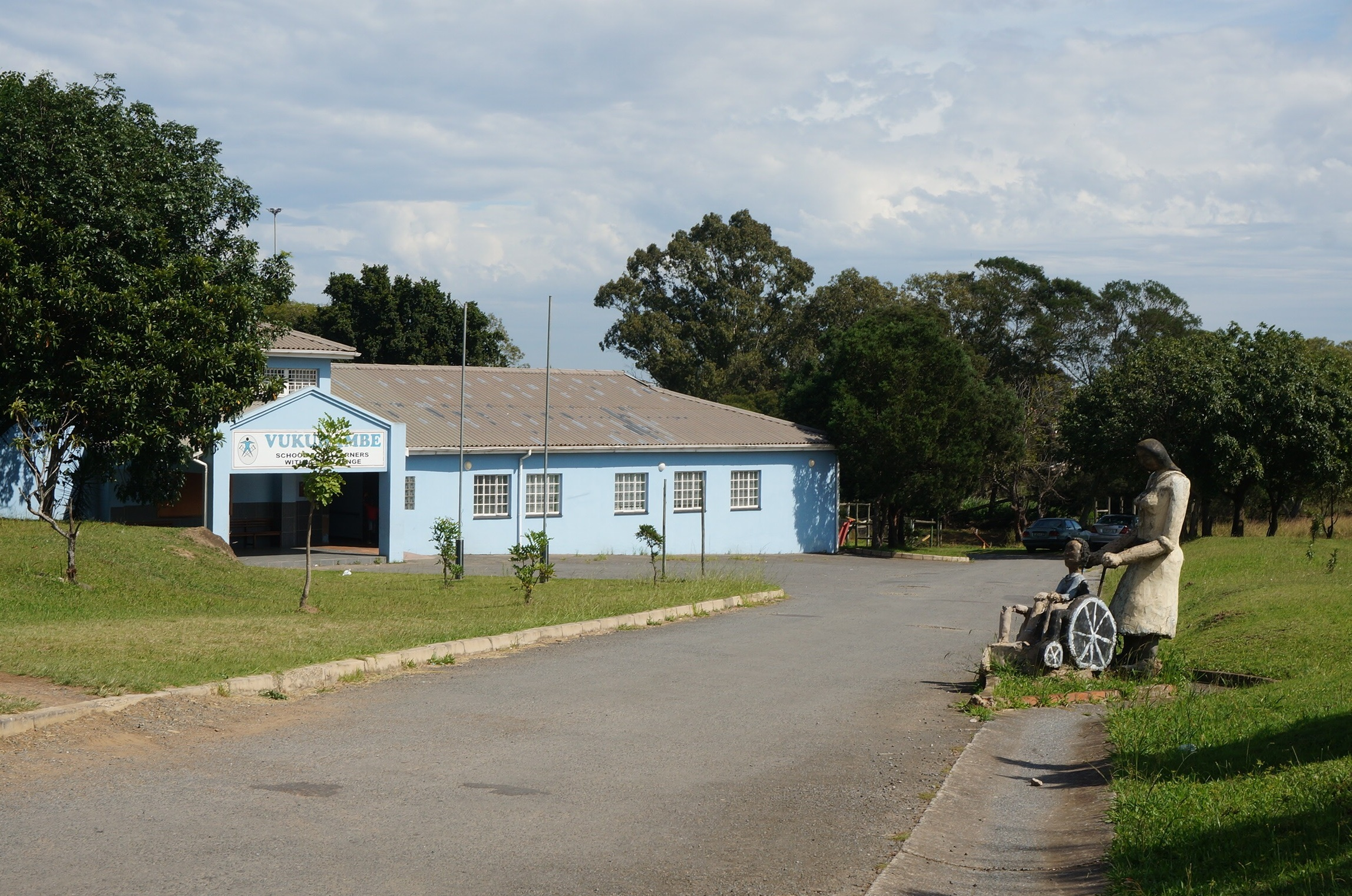 Vukuhambe Special School, which serves over 150 students with physical disabilities in Eastern Cape, South Africa.    Credit: UN-Habitat