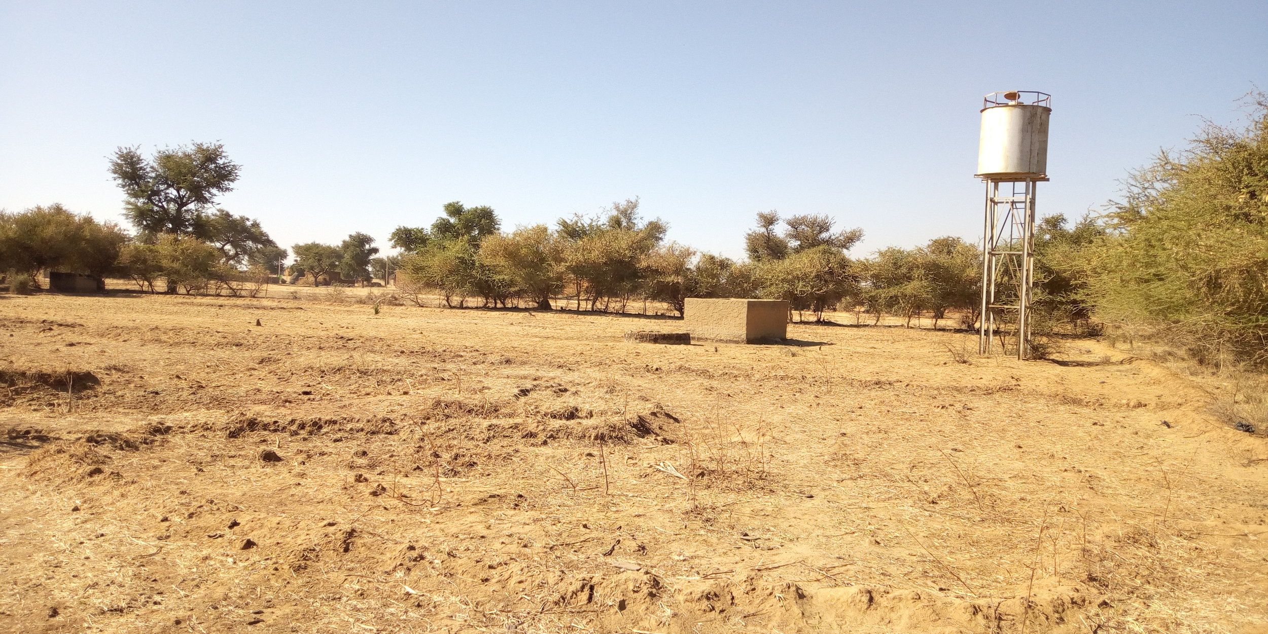 The park site lacked structure and many resources before the intervention. Credit: UN-Habitat