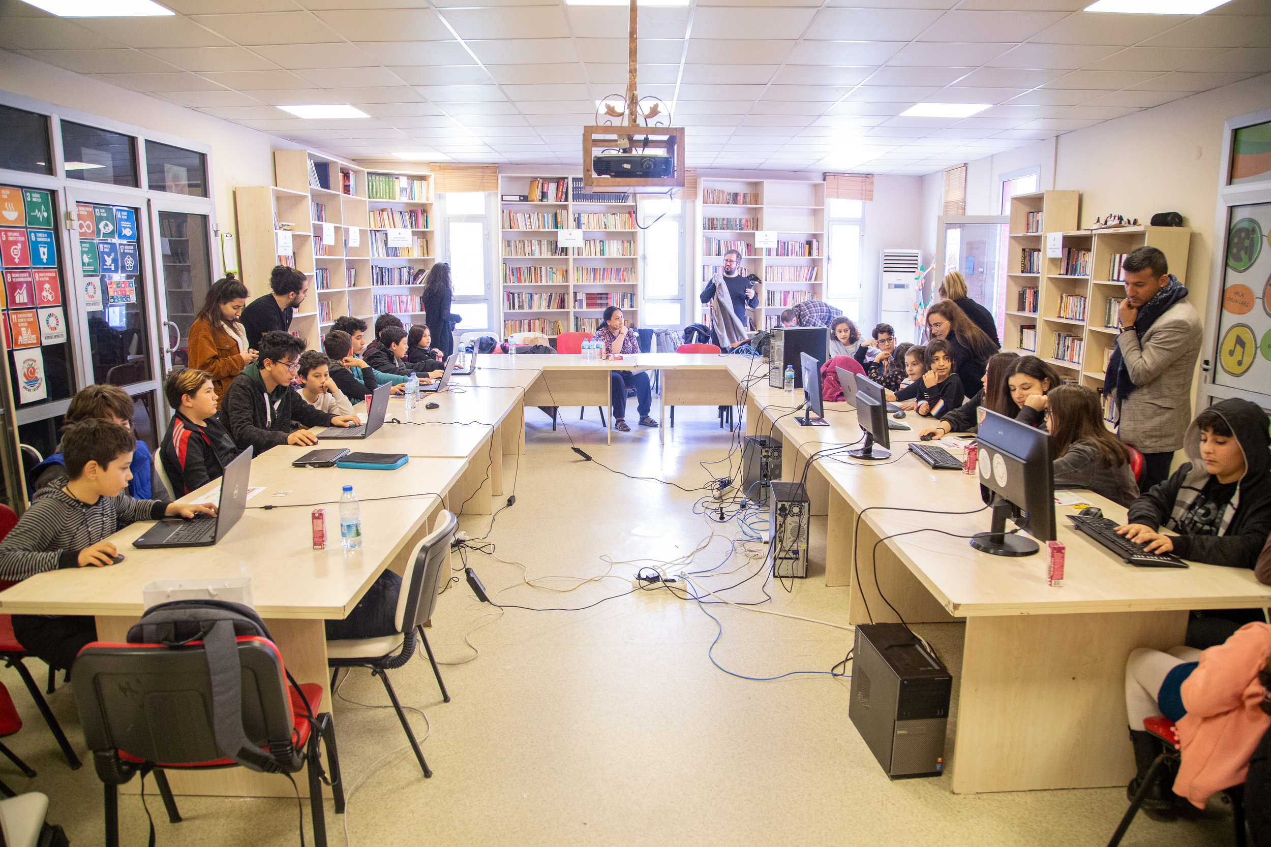 Creativity in action at the Seferihisar Block by Block Workshop. Credit: Abdullah Özden