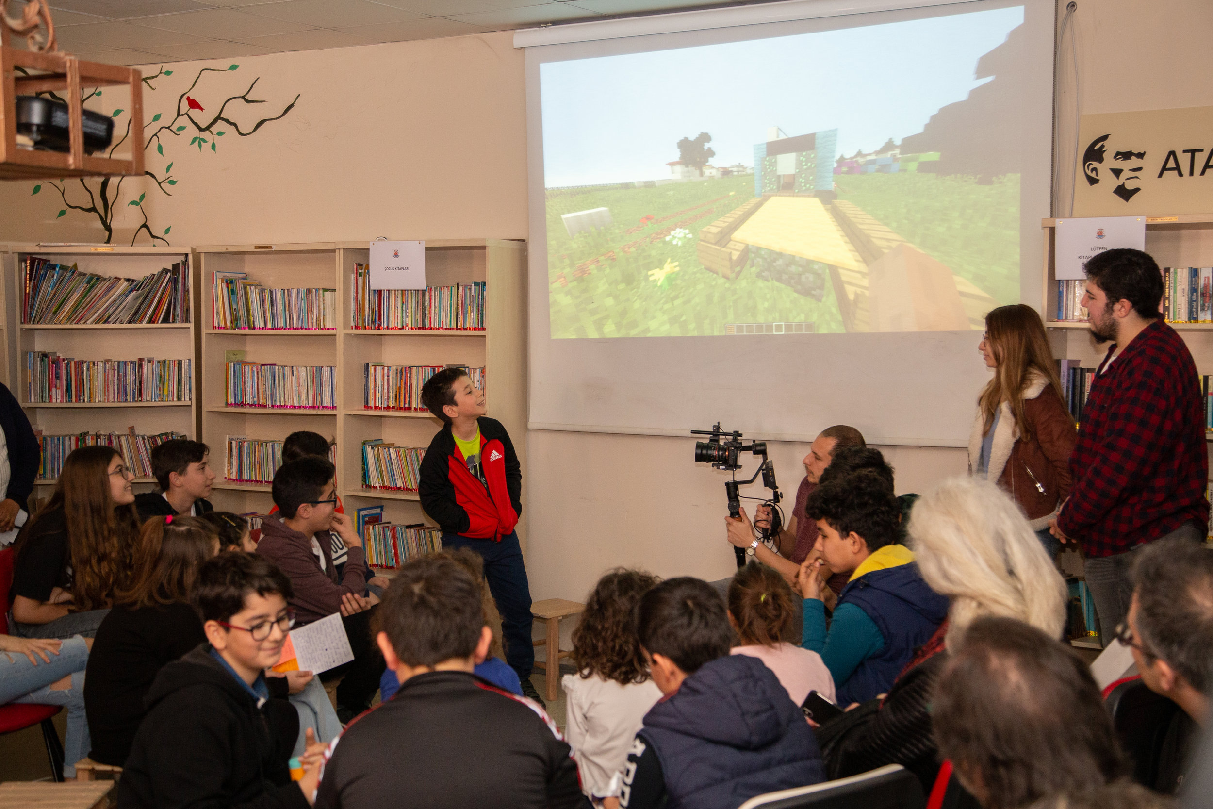 In the Seferihisar Children Municipality, kids get to elect a Child Mayor—and design their own summer camp using Minecraft! Credit: Abdullah Özden