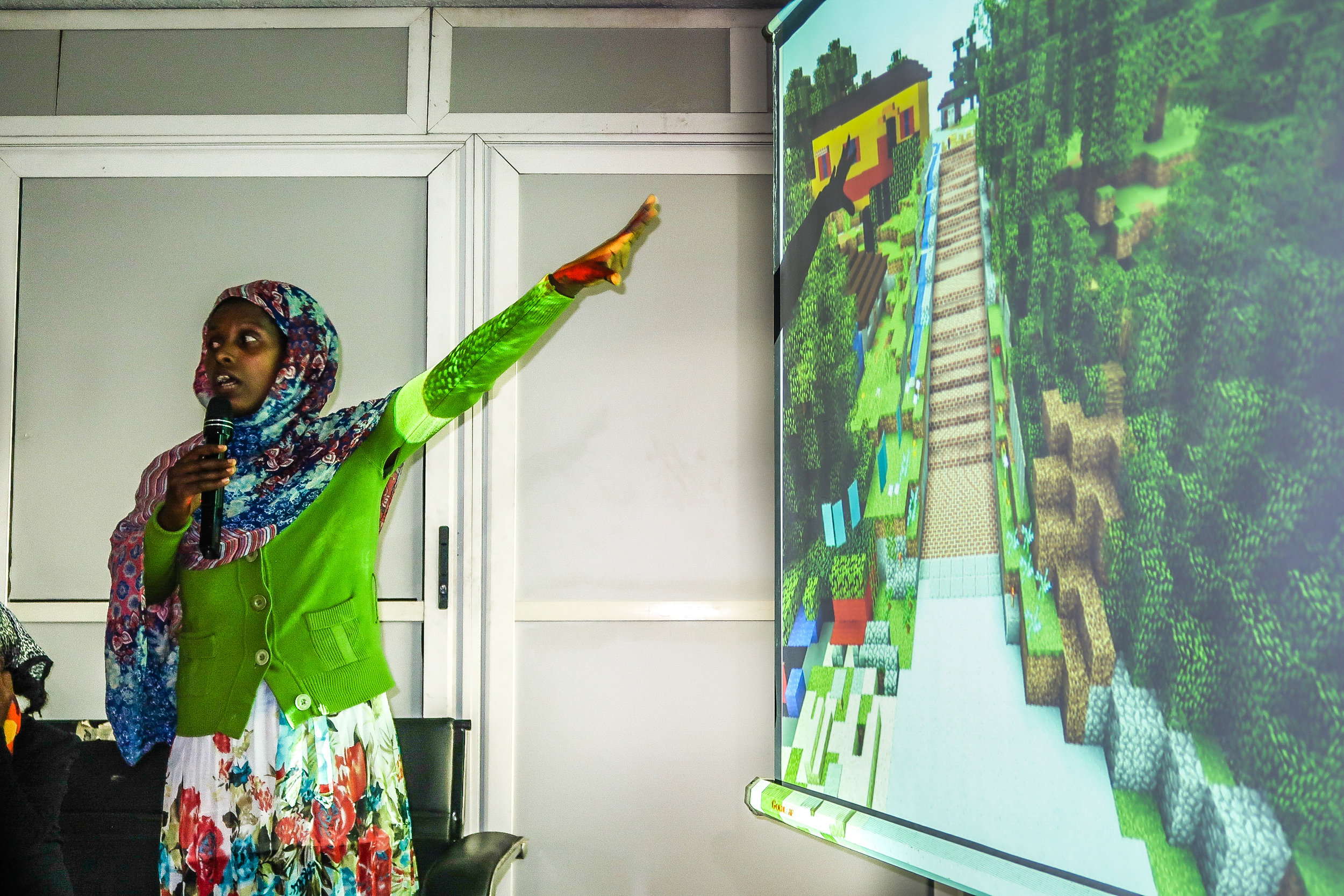 Residents of Addis Ababa, Ethiopia, used Minecraft to help shape the renovation of crucial waterfront infrastructure and protect public spaces for public use. Credit: UN-Habitat
