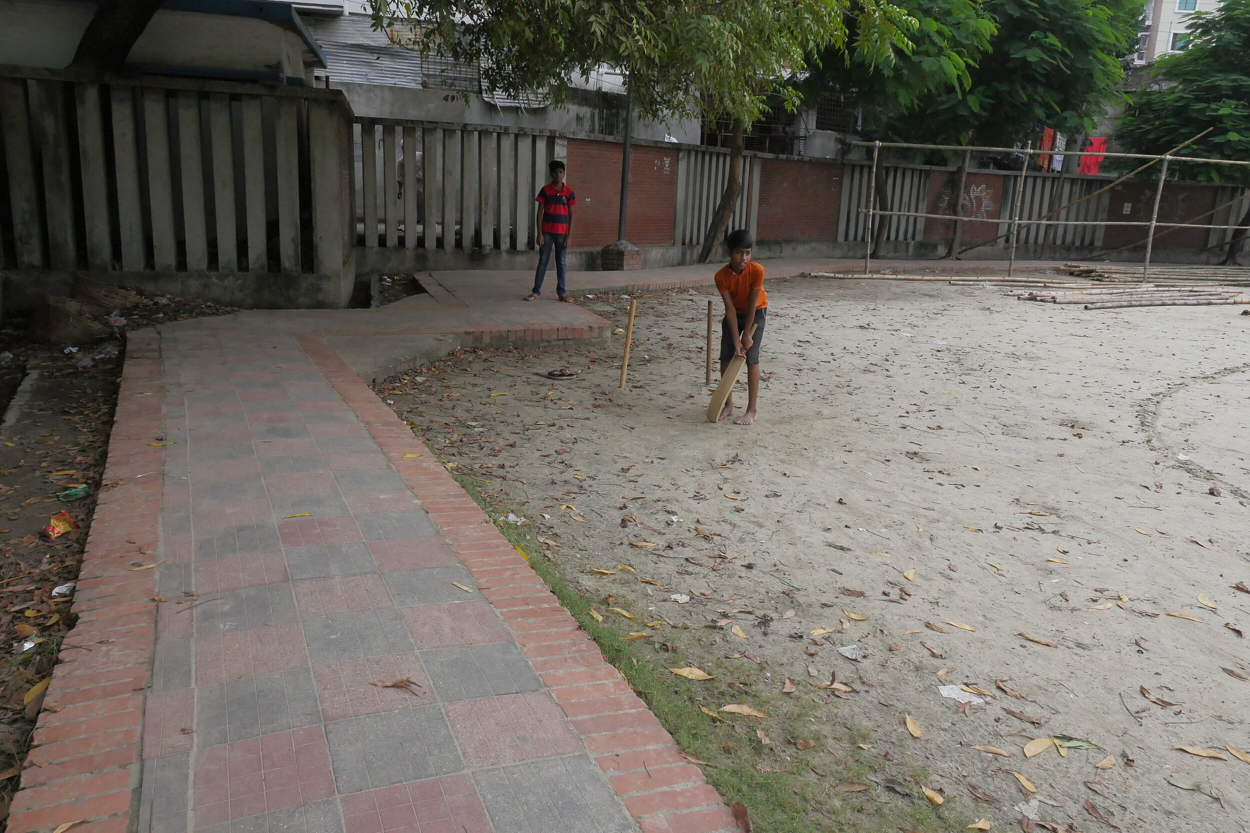 Before the renovation, the park was used primarily by men and boys playing cricket. Credit: UN-Habitat