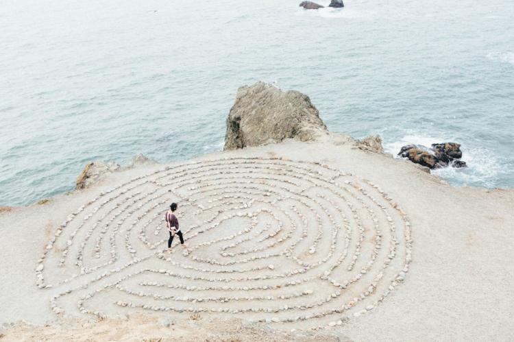 Should you become a doula beach labyrinth