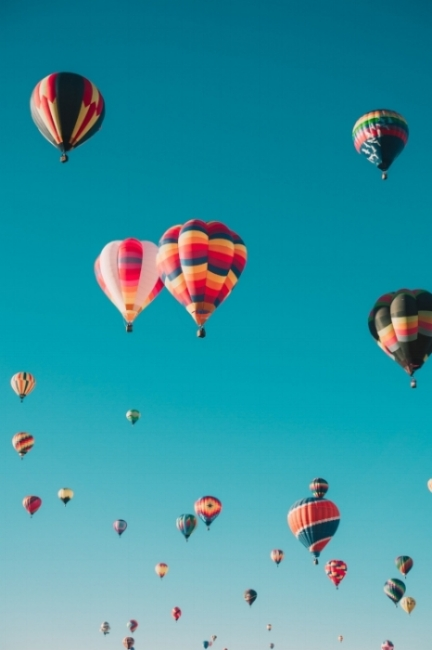 New doula mentoring hot air balloons
