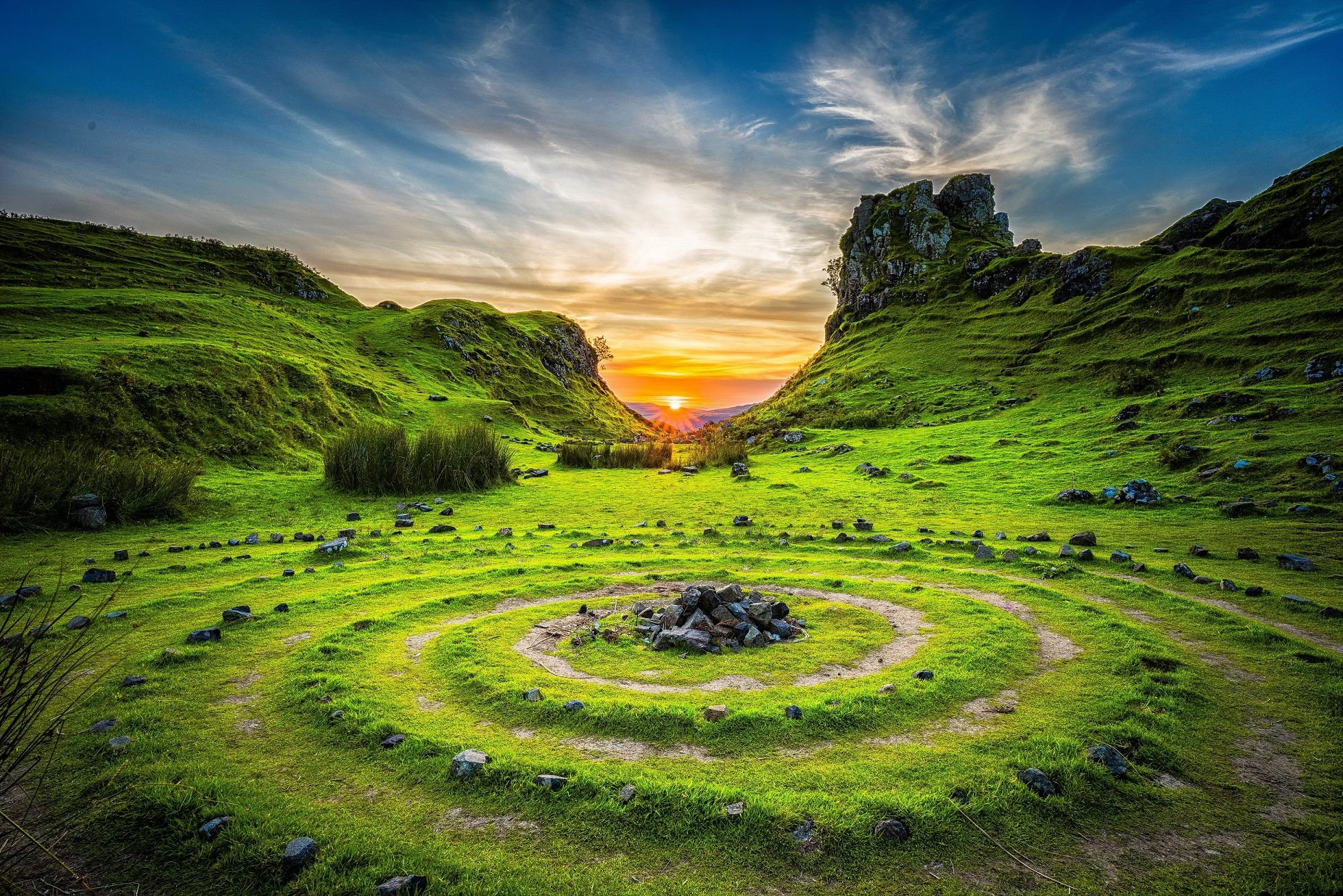 Mentoring program for new doulas labyrinth