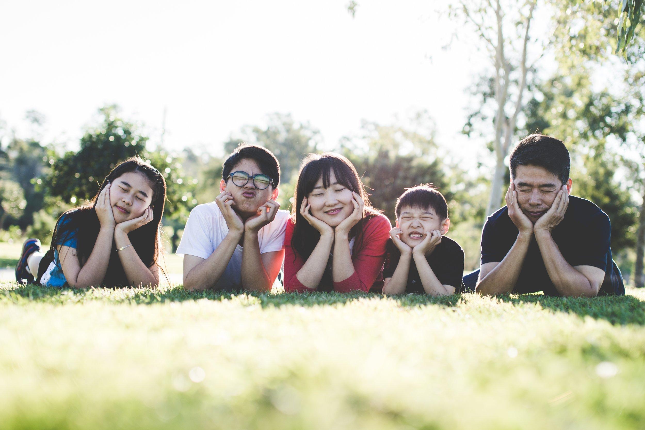 Asian bail bond family