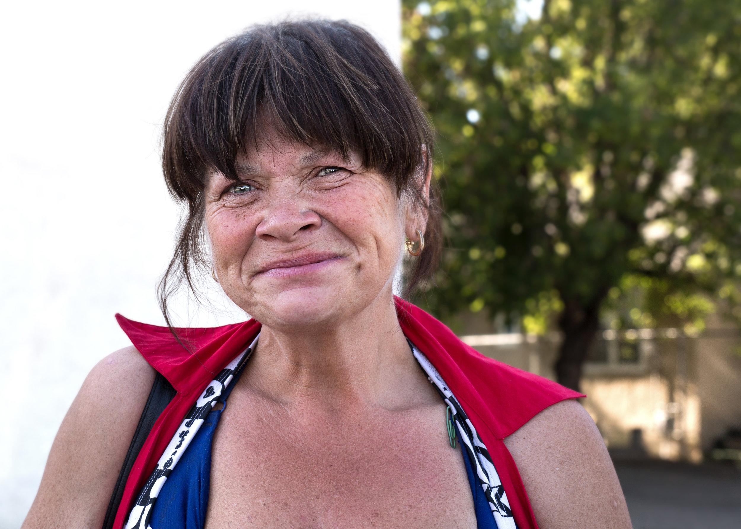 Anne Marie - Life on the Street - Edmonton - Lorna Dancey Photography
