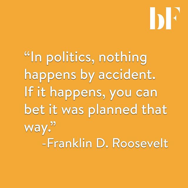 There has been so many controversial events that have happened within the last few years under Trump's presidency. With our current government and political environment, do you think what FDR said is true?