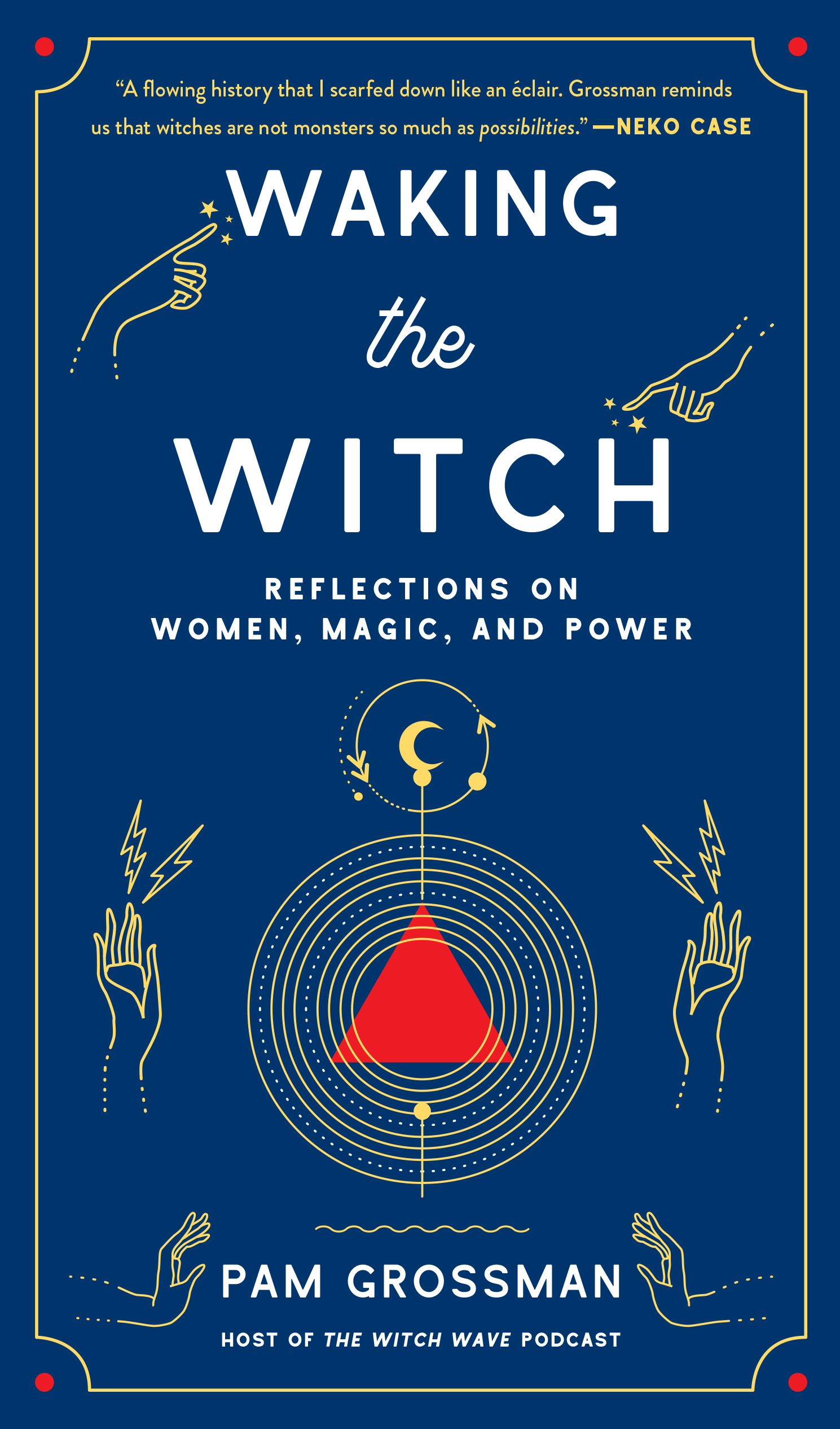 WAKING THE WITCH: REFLECTIONS ON WOMEN, MAGIC, AND POWER - Gallery Books/Simon & SchusterJune 4, 2019ORDER HEREA whip-smart and illuminating exploration of the world's fascination with witches from podcast host and practicing witch Pam Grossman (The Witch Wave), who delves deeply into why witches have intrigued us for centuries and why they're more relevant now than ever. When you think of a witch, what do you picture? Pointy black hat, maybe a broomstick. But witches in various guises have been with us for millennia. In Waking the Witch, Pam Grossman explores the cultural and historical impact of the world's most magical icon. From the idea of the femme fatale in league with the devil in early modern Europe and Salem, to the bewitching pop culture archetypes in Buffy the Vampire Slayer, Sabrina the Teenage Witch, and Harry Potter; from the spooky ladies in fairy tales and horror films to the rise of feminist covens and contemporary witchcraft, witches reflect the power and potential of women.In this fascinating read that is part cultural analysis, part memoir, Pam opens up about her own journey on the path to witchcraft, and how her personal embrace of the witch helped her find strength, self-empowerment, and a deeper purpose. A comprehensive meditation on one of the most mysterious and captivating figures of all time, Waking the Witch celebrates witches past, present, and future, and reveals the critical role they have played—and will continue to play—in shaping the world as we know it.