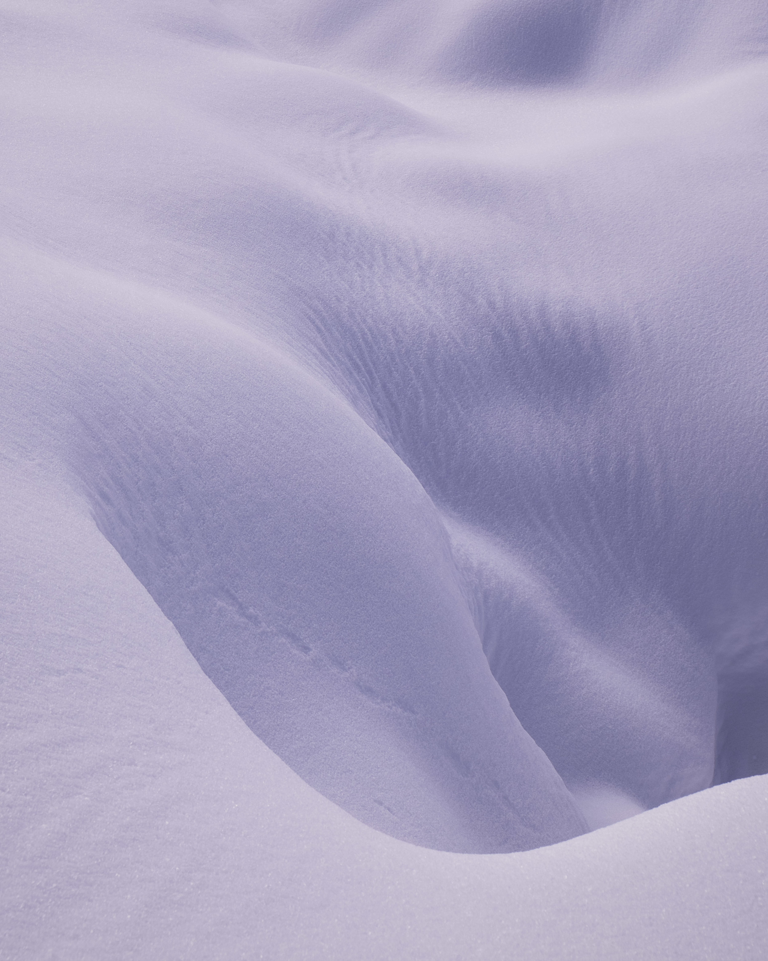 2400m  Finally, there was nothing left than pure snow. It was the total expression of winter. I loved the abstract lines in the snow and tried to arrange them in compelling composition. 35mm, f5.6, 1/420s, Fuji X-T1