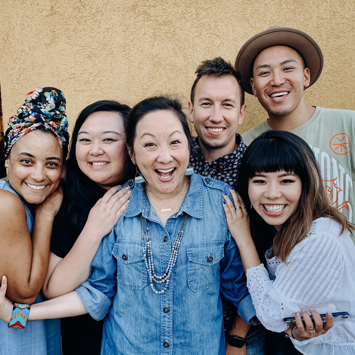 Chantel Runnels: Executive Producer, Vicki Fan: Complier and Creator of Show Notes, me: host, Aaron Kretzmann: Sound Engineer, Jocelyn Chung: Logo Designer, Kenny Wong: Director of Design and Branding (not pictured: Joe Pash with Passion Net Productions: Composer of Original Music