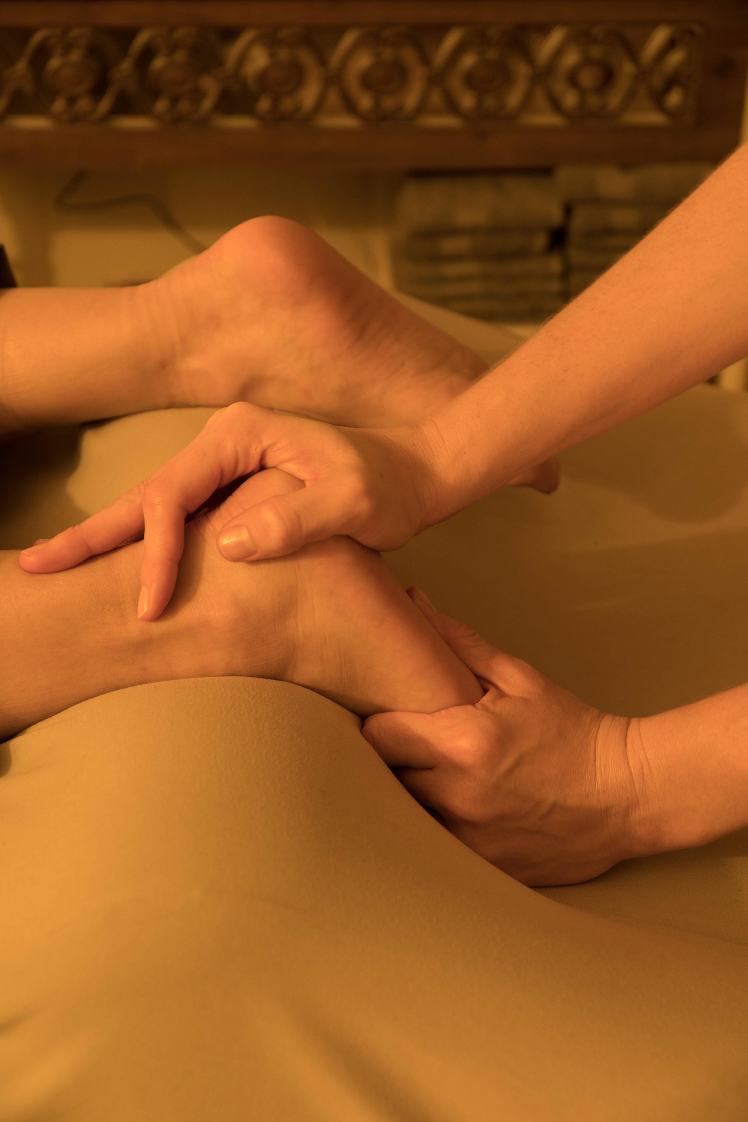 Invigorating Focus Massage, also known as Sports Massage. Provided by Grant, Tamara, Carmella & Jannette.