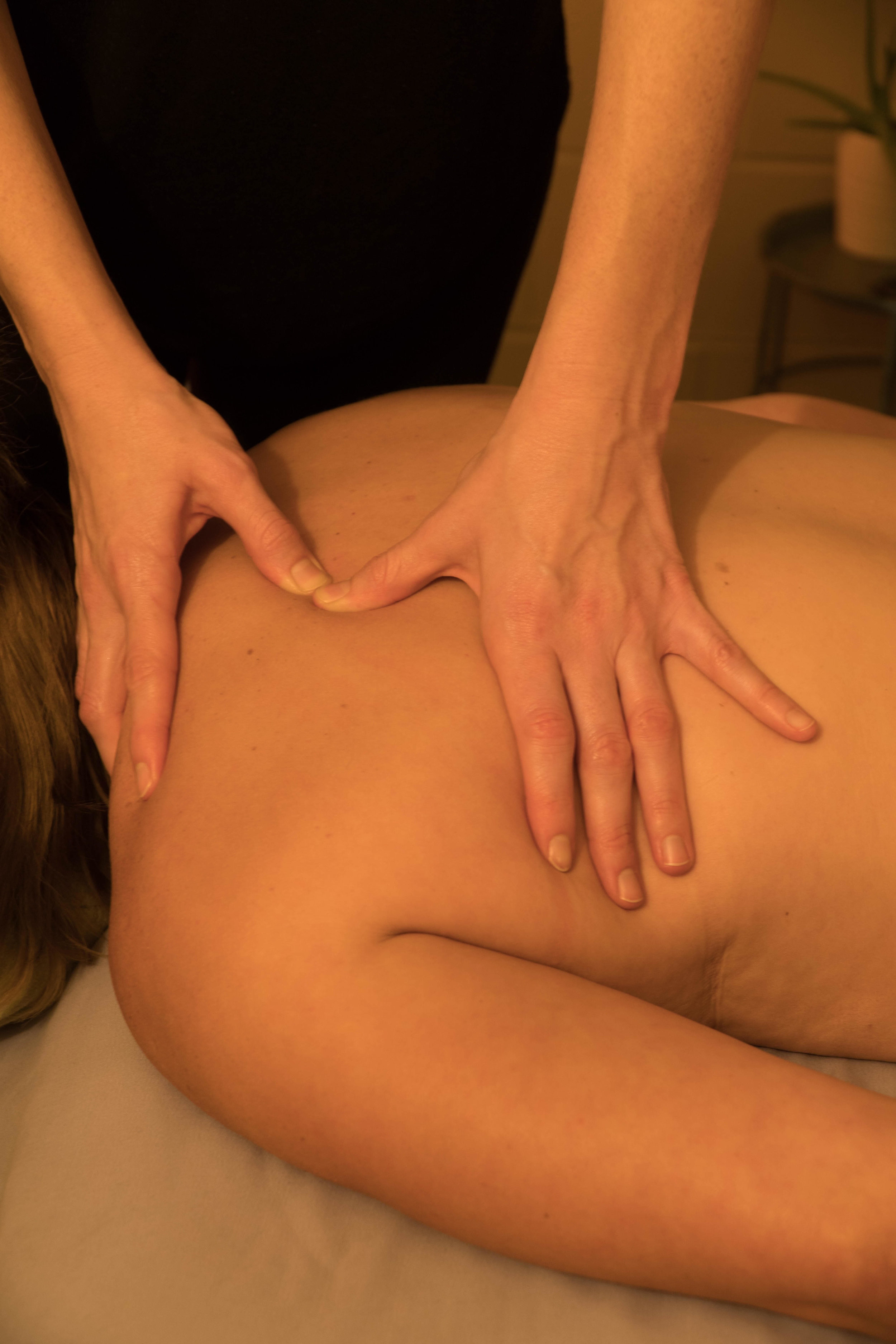 Kneaded Touch Massage, also known as Trigger Point Massage. Provided by Grant, Tamara, Carmella & Jannette.