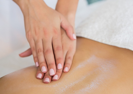Crossfiber Corrective Massage. This is a specialized modality provided By Carmella.